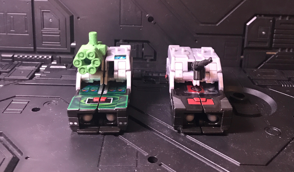 Tank modes - front