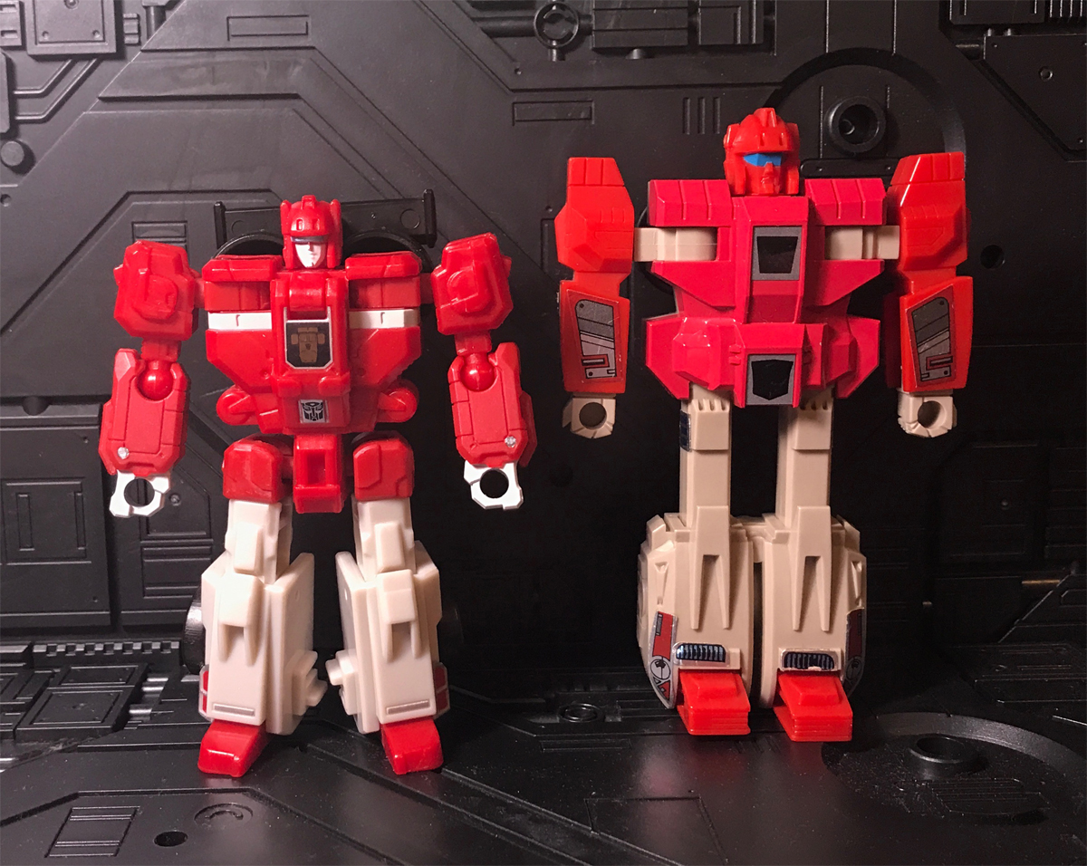 Fastclash and Fastlane - robot mode