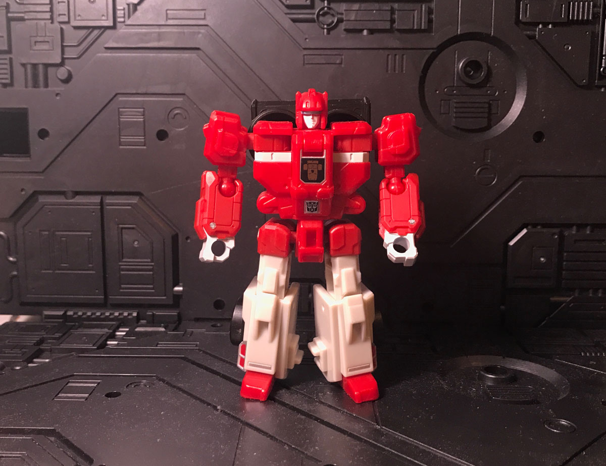 Fastclash robot mode