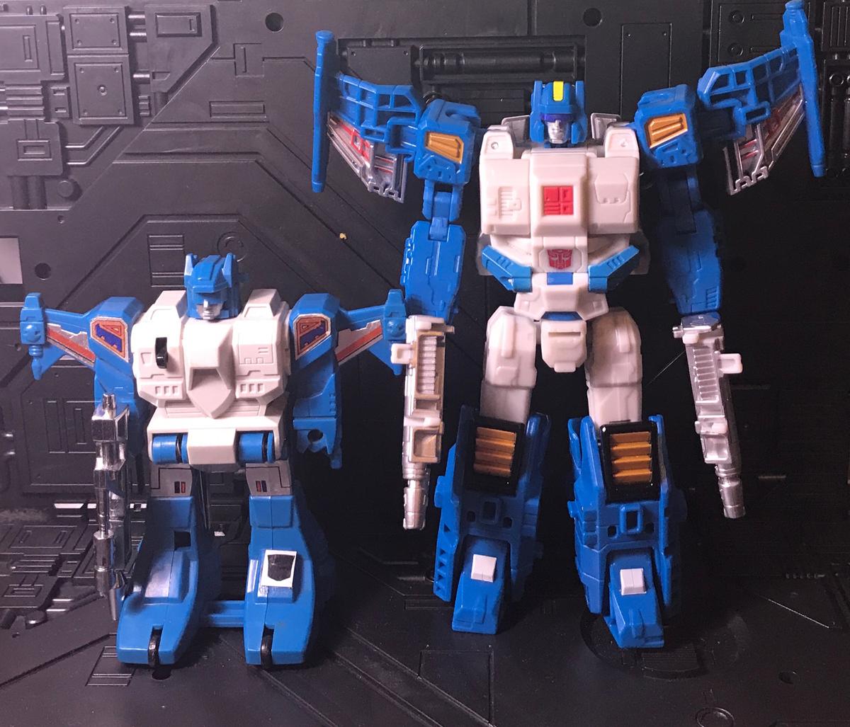 Topspin robot modes
