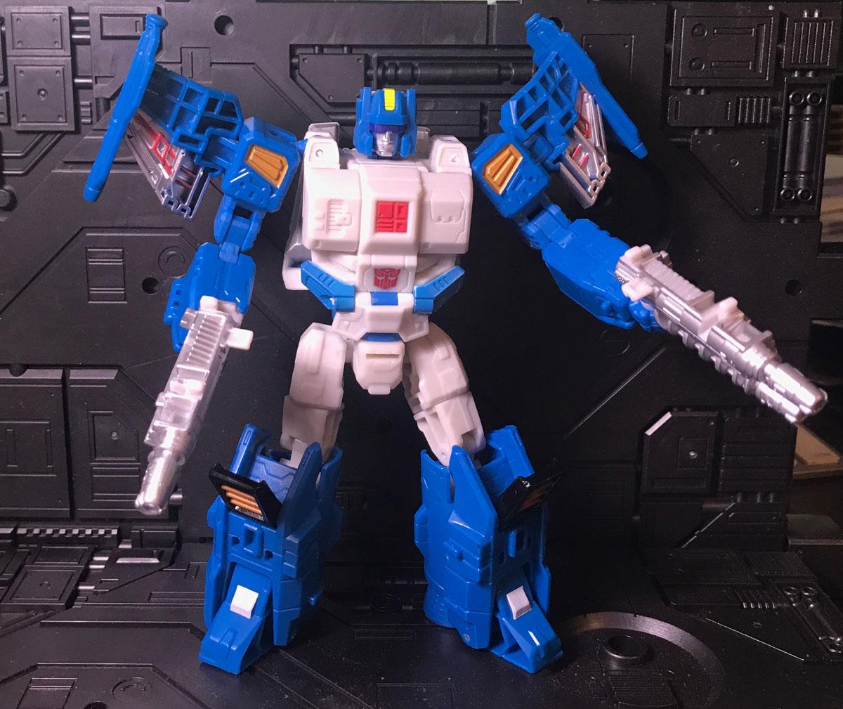 Topspin robot mode
