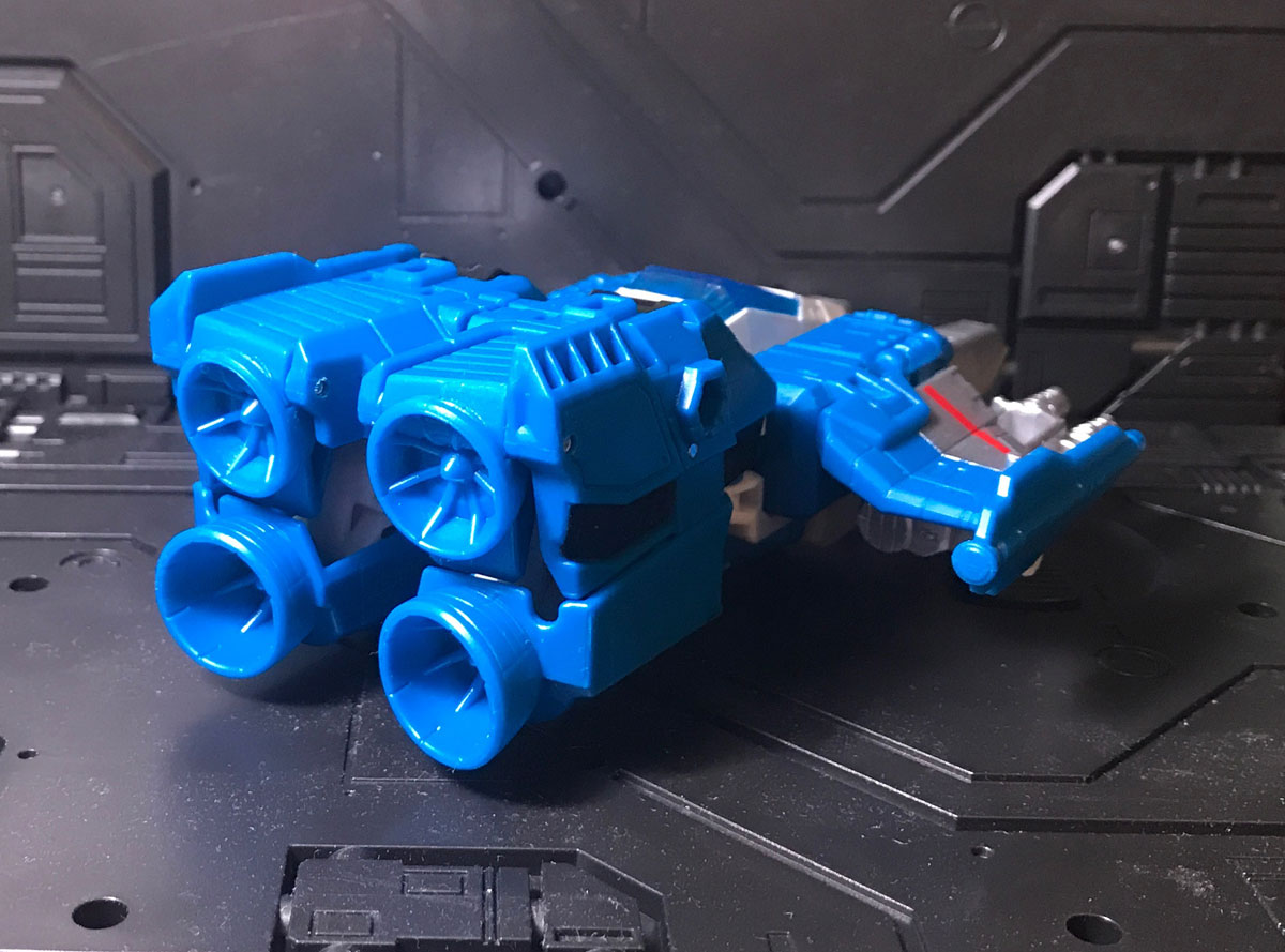 Topspin vehicle mode rear