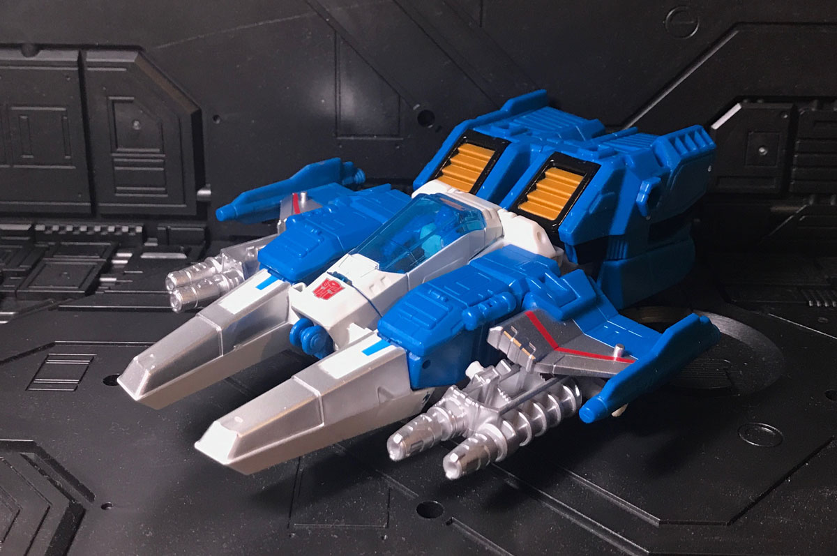 Topspin vehicle mode