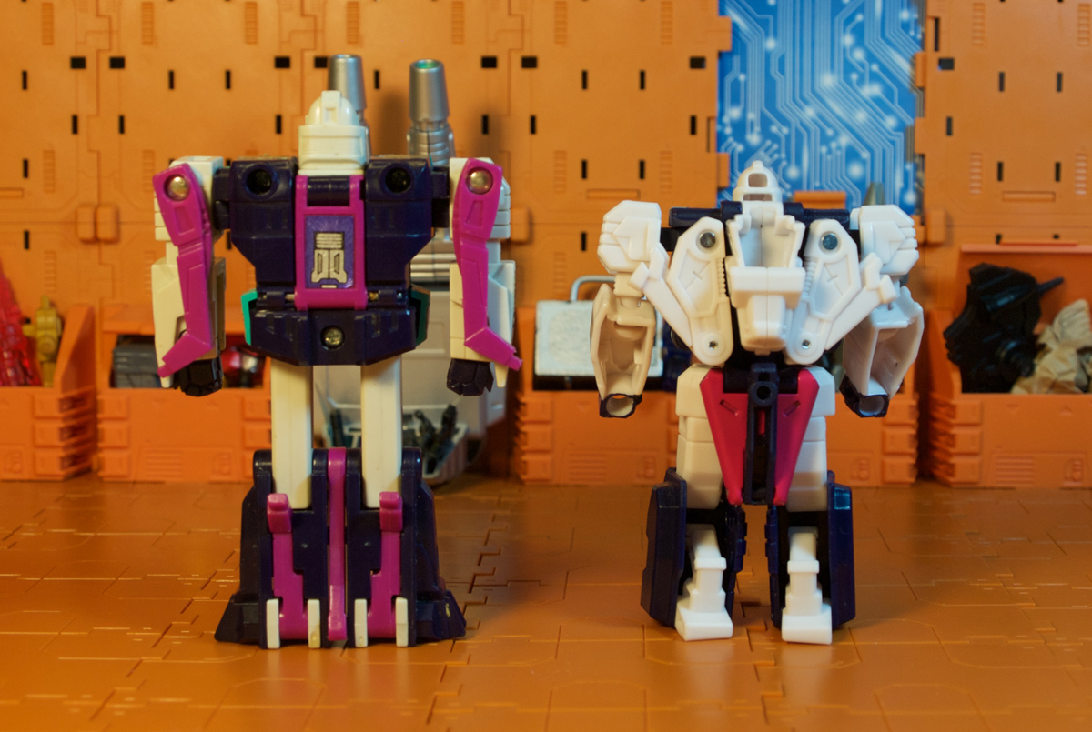 Pounce robot mode - back with G1