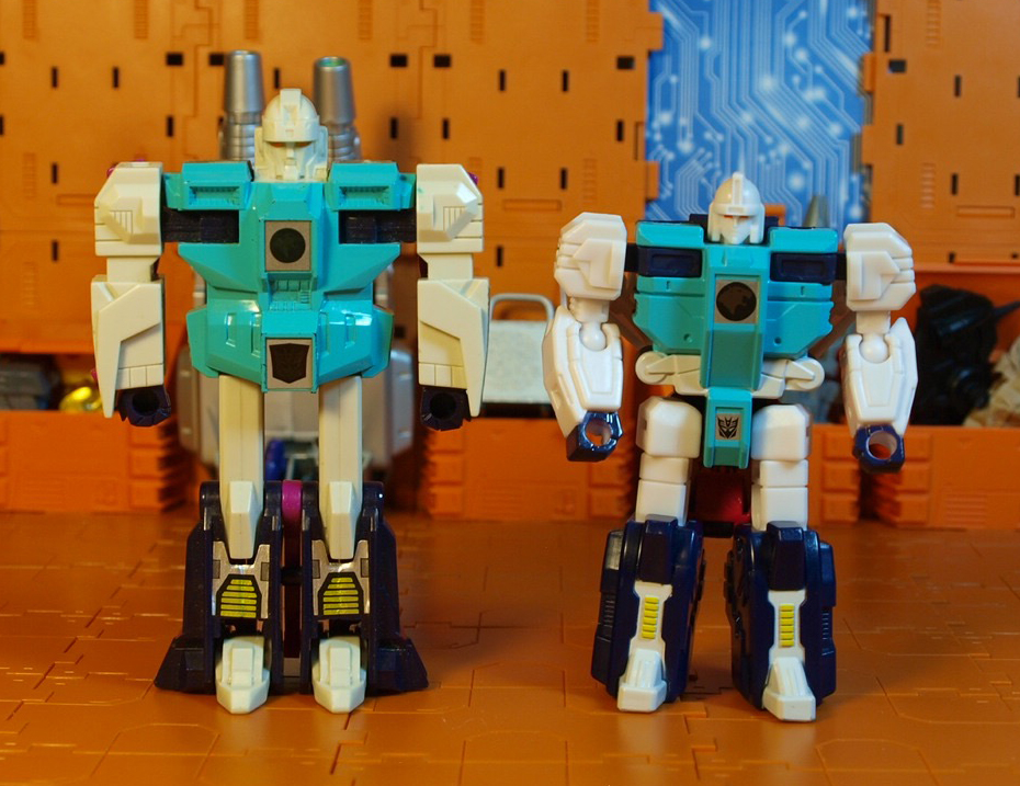 Pounce robot mode - G1