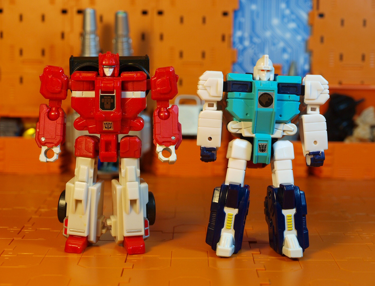 Pounce and Fastclash robot modes