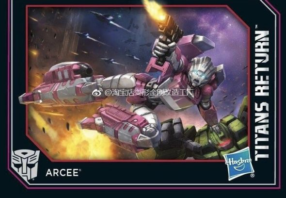 Titans Return Arcee