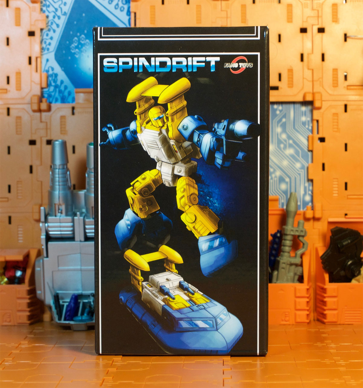 Spindrift box