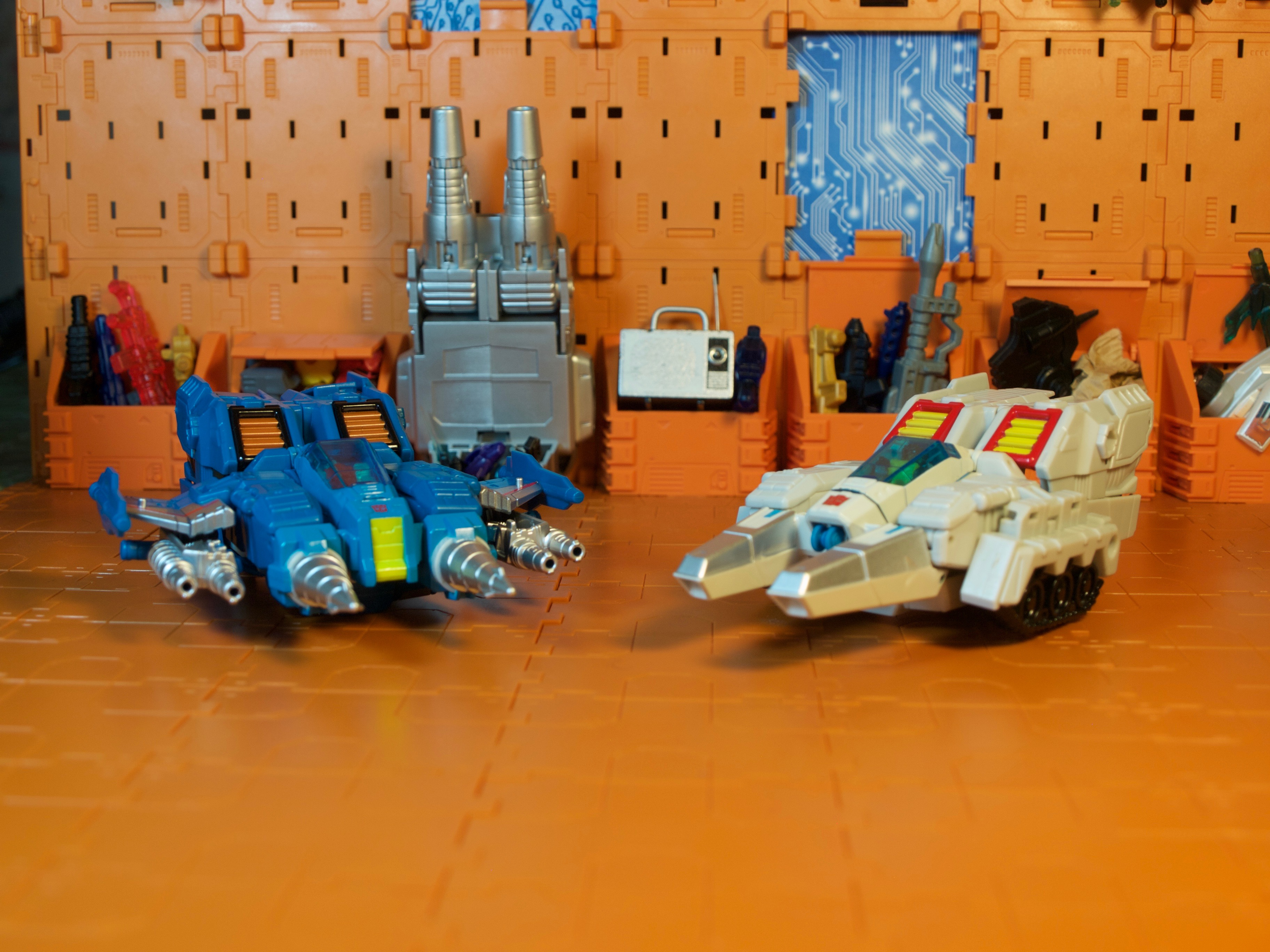 Clobber & Ptero vehicle mode
