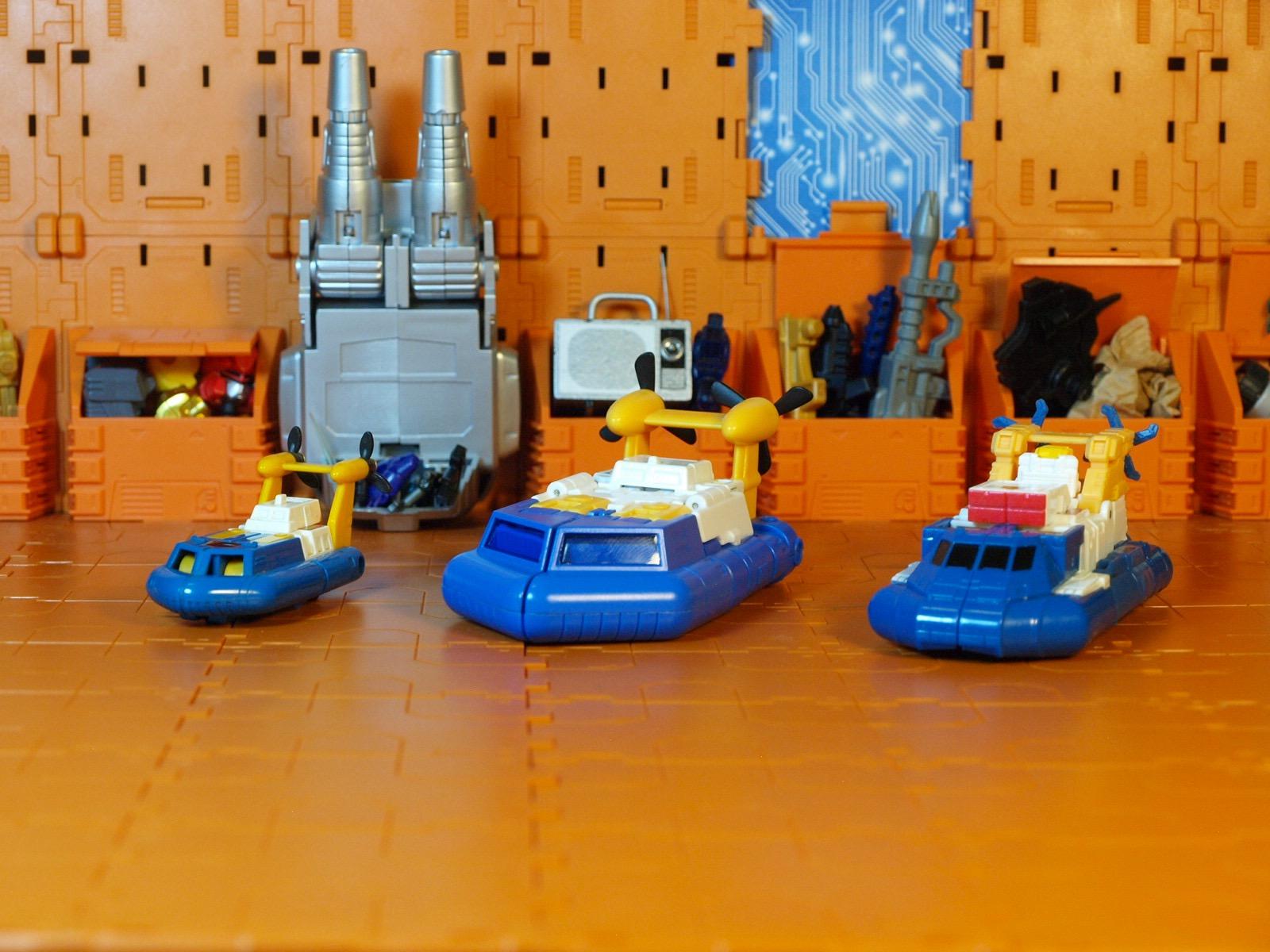 Spindrift Hovercraft comparison