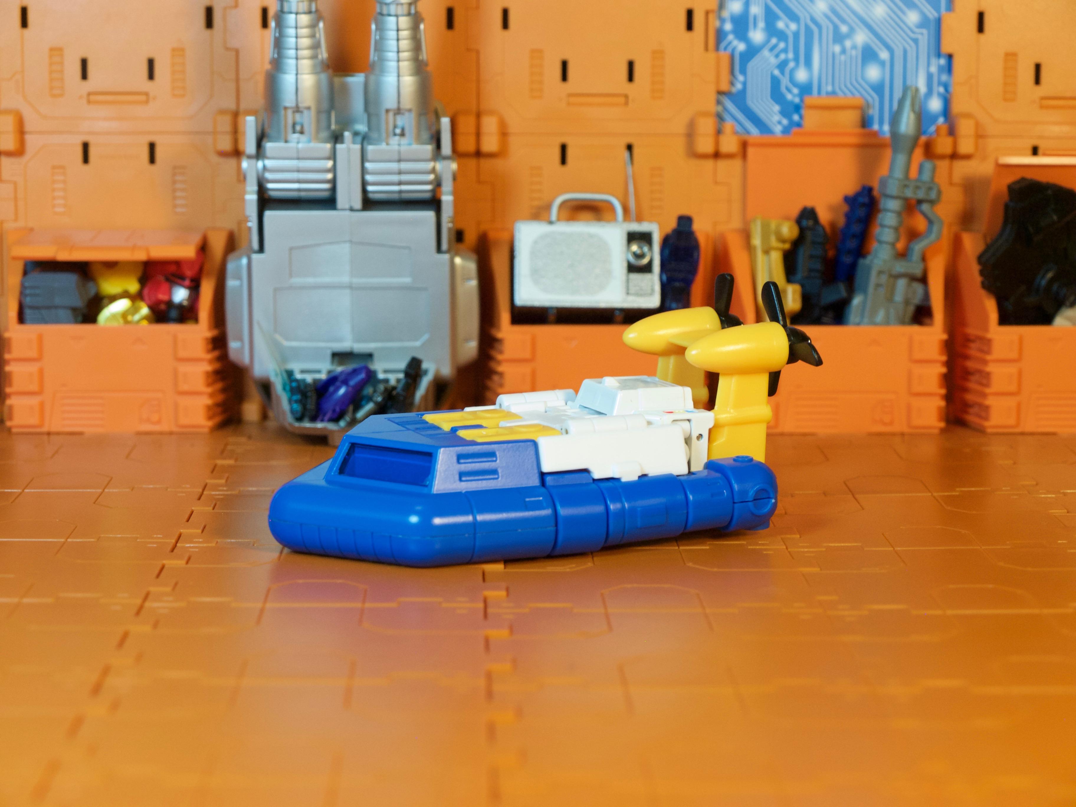 Spindrift Hovercraft side
