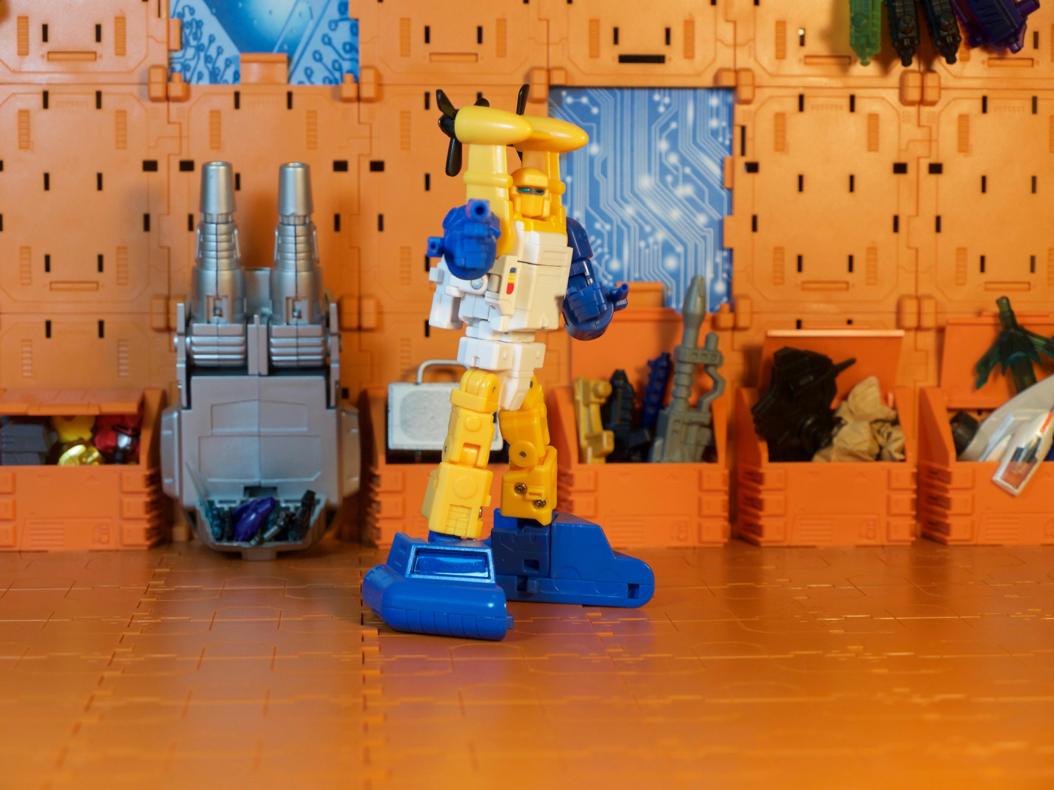 Spindrift robot armed