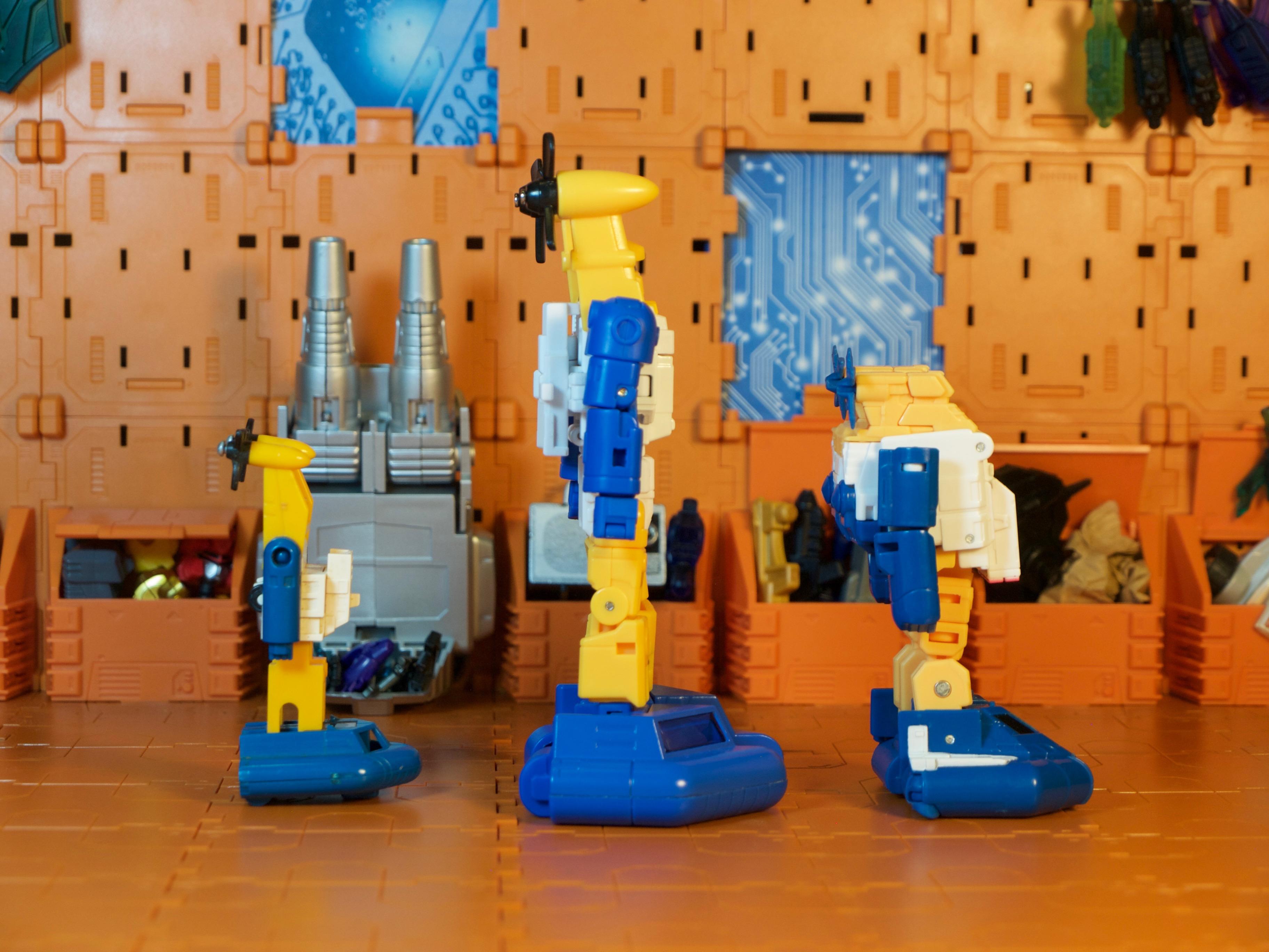 Spindrift robot comparison side