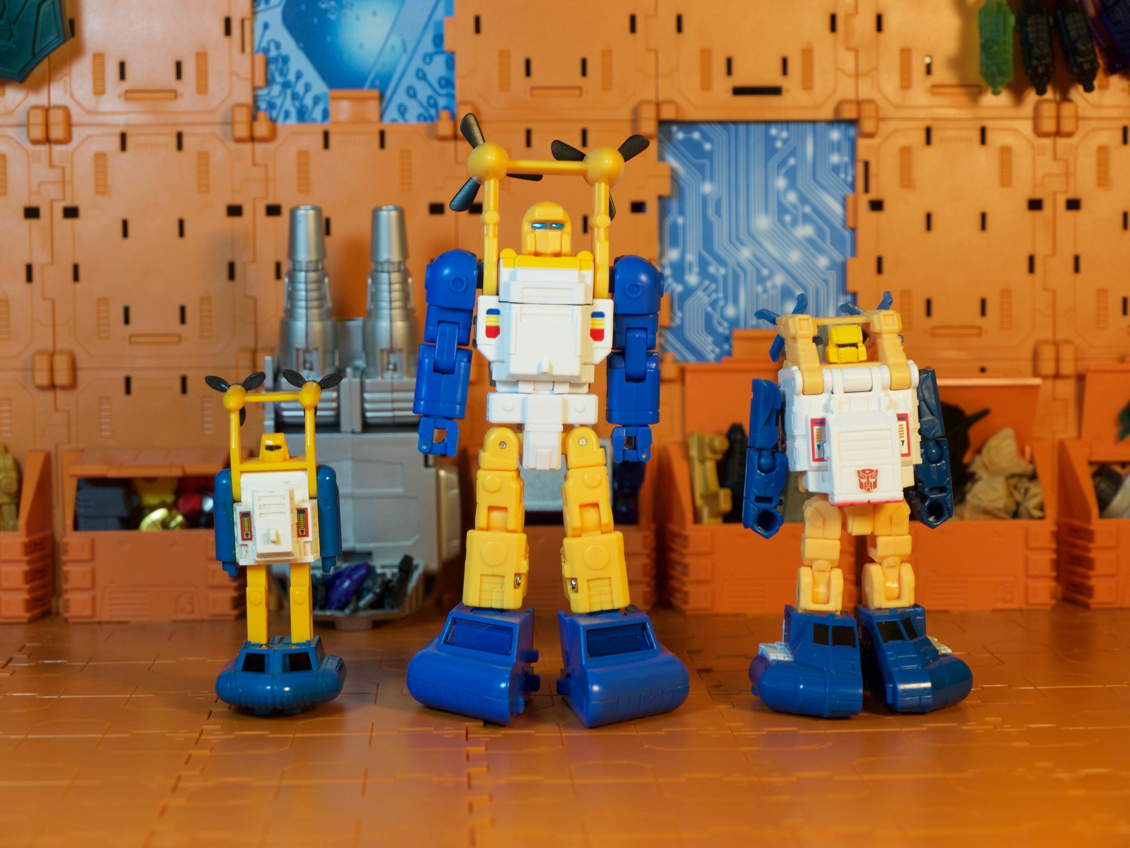 Spindrift robot comparison