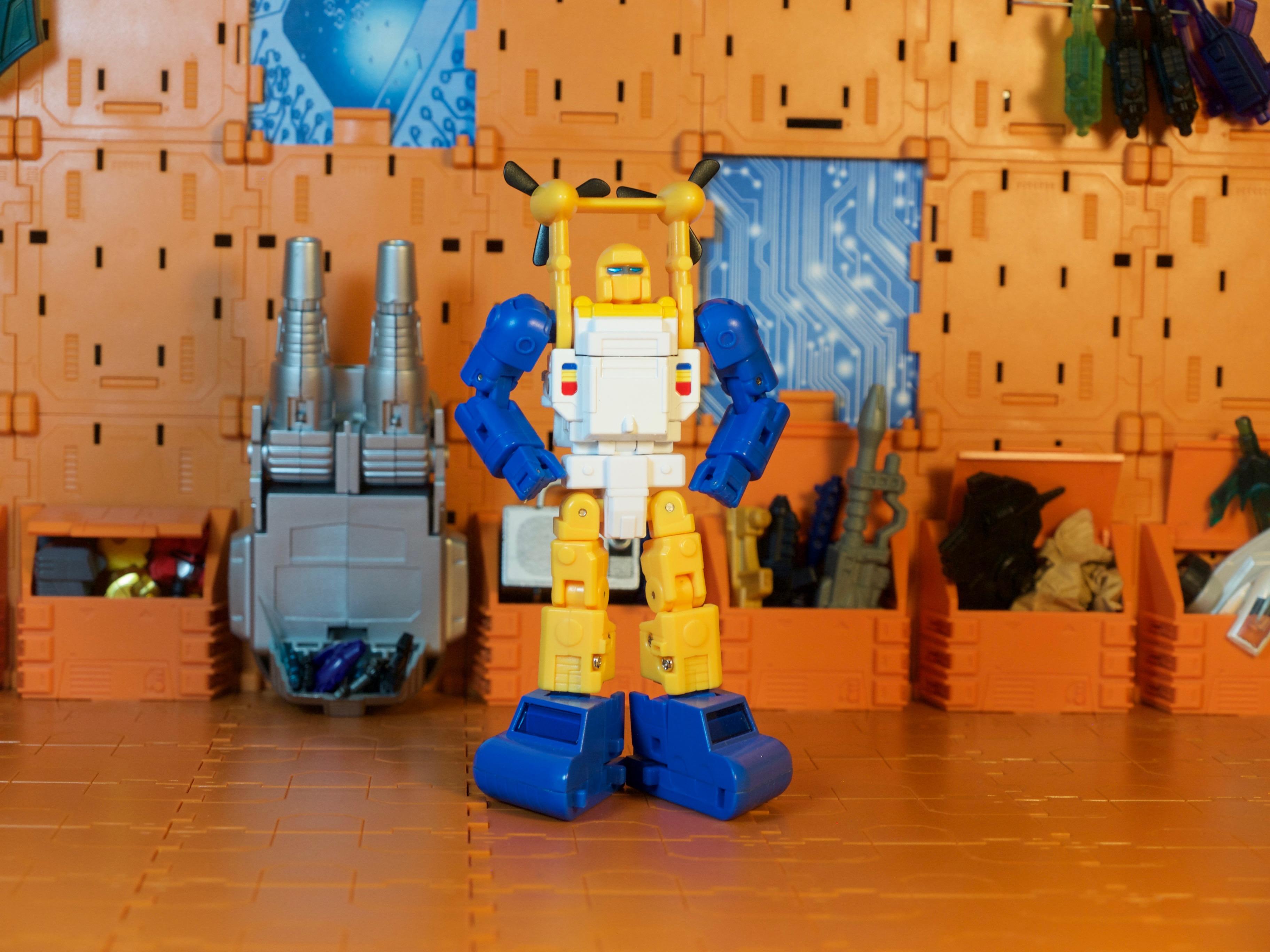 Spindrift robot