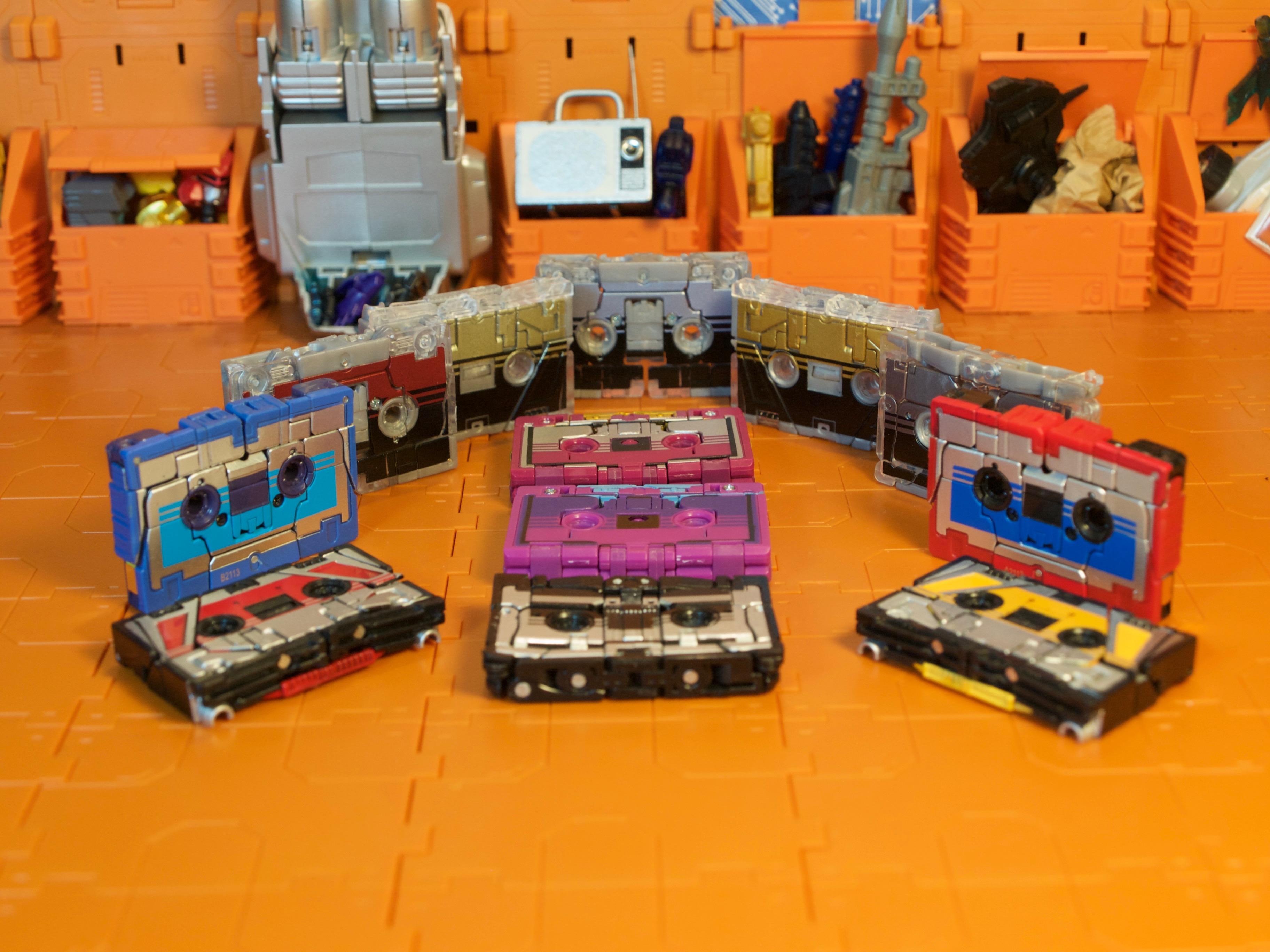 Cassettrons cassette mode