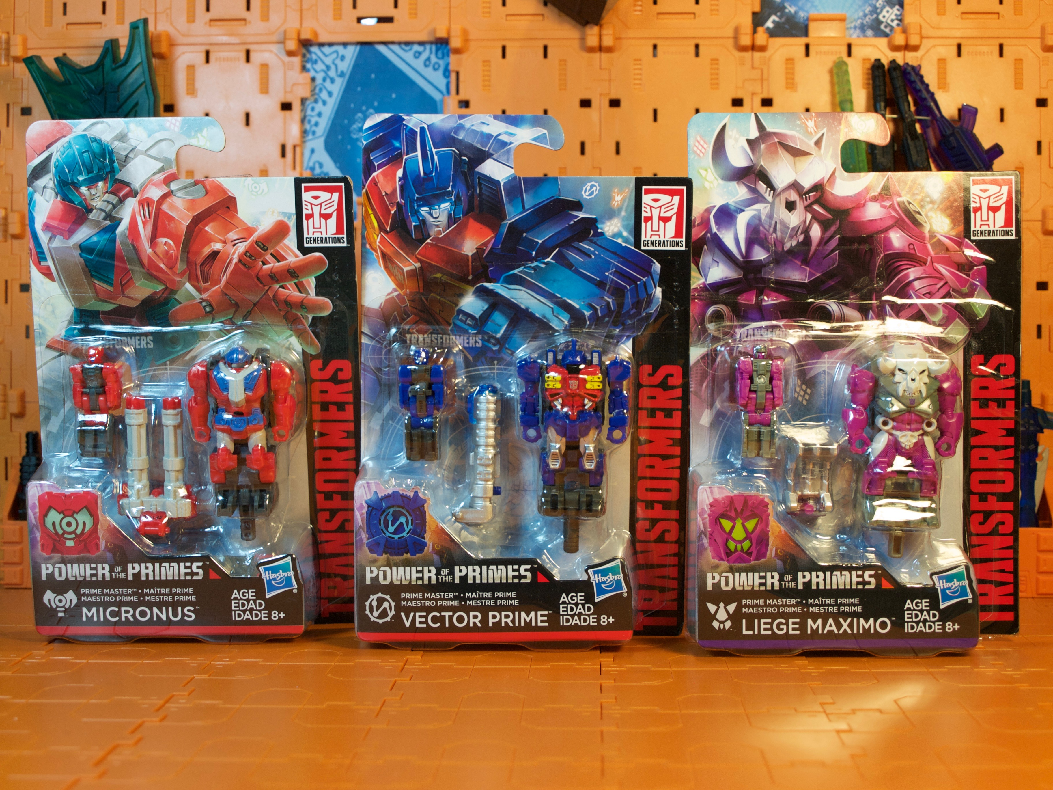Prime Masters wave 1
