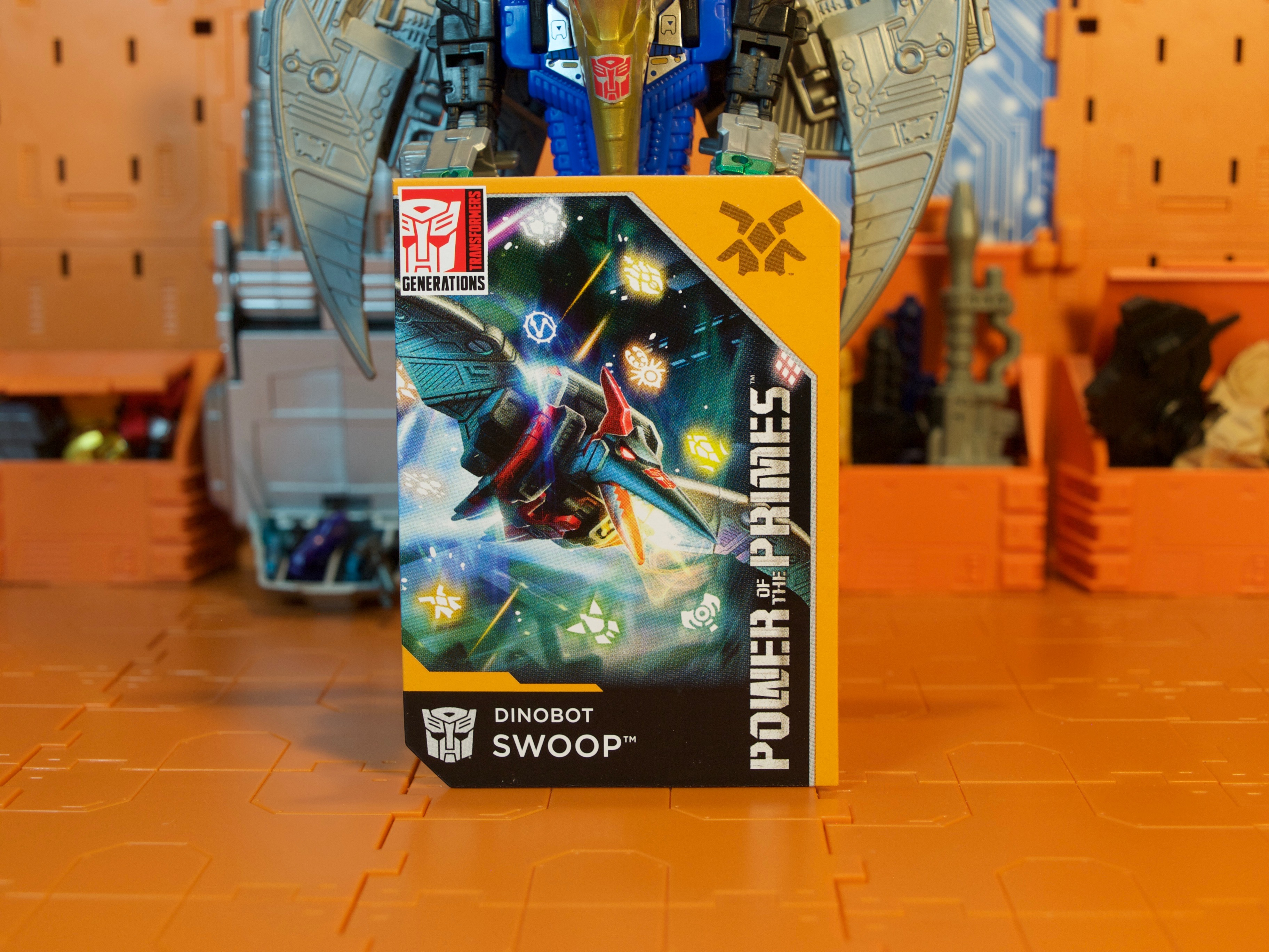 Swoop card front