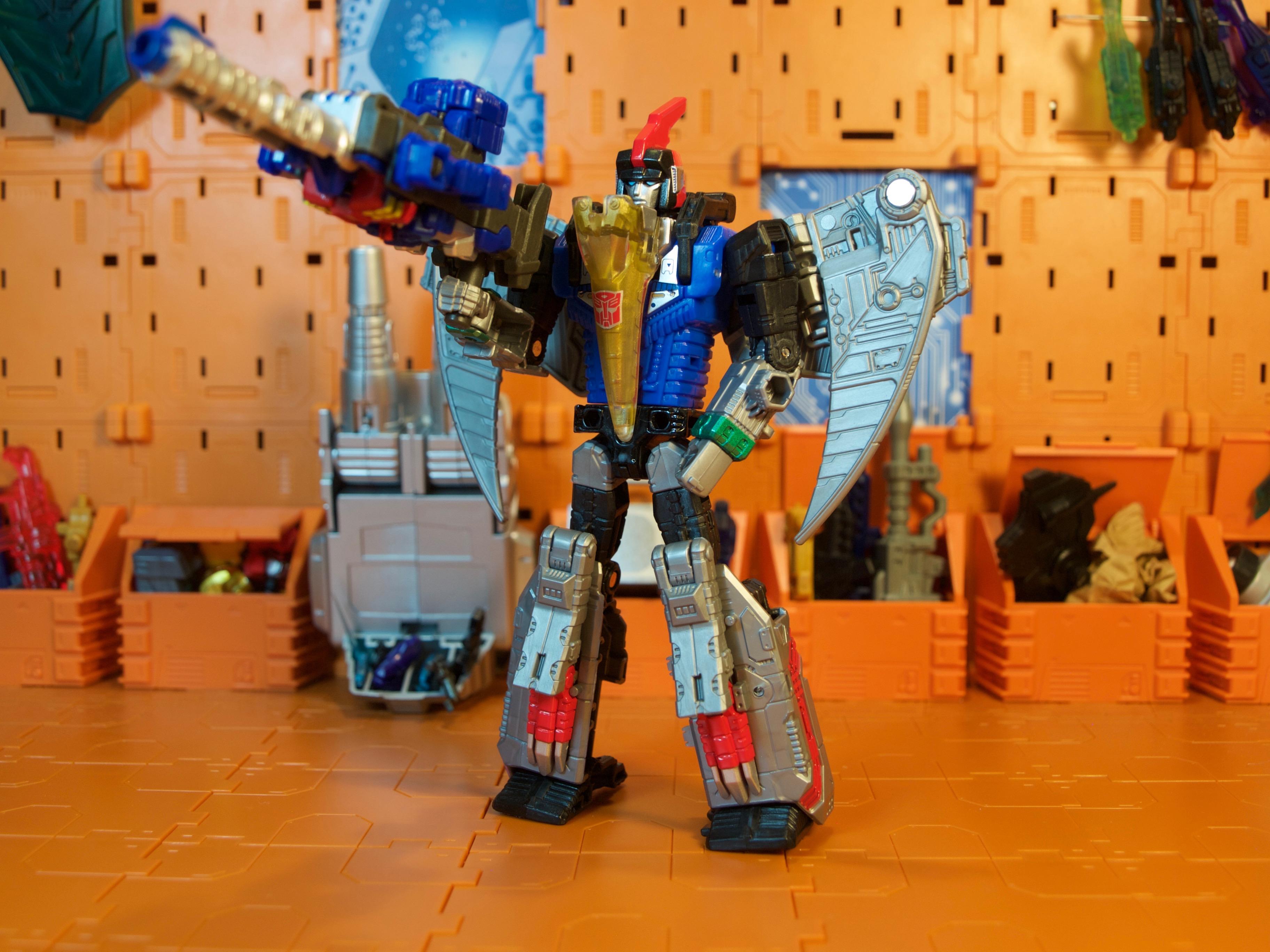 Swoop robot mode Prime Master