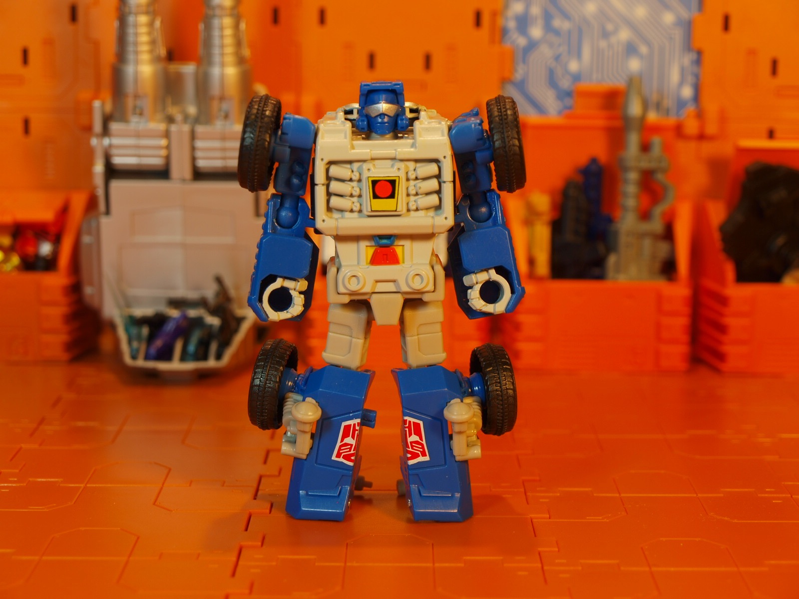 Beachcomber robot mode