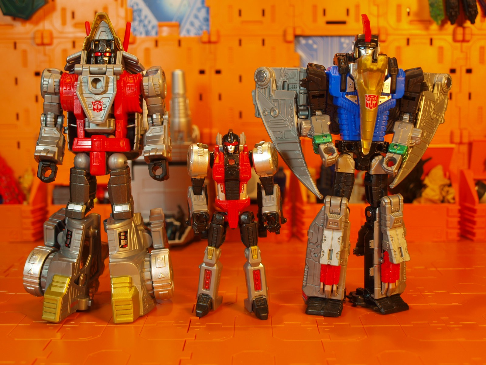 Slash with Dinobots robot mode