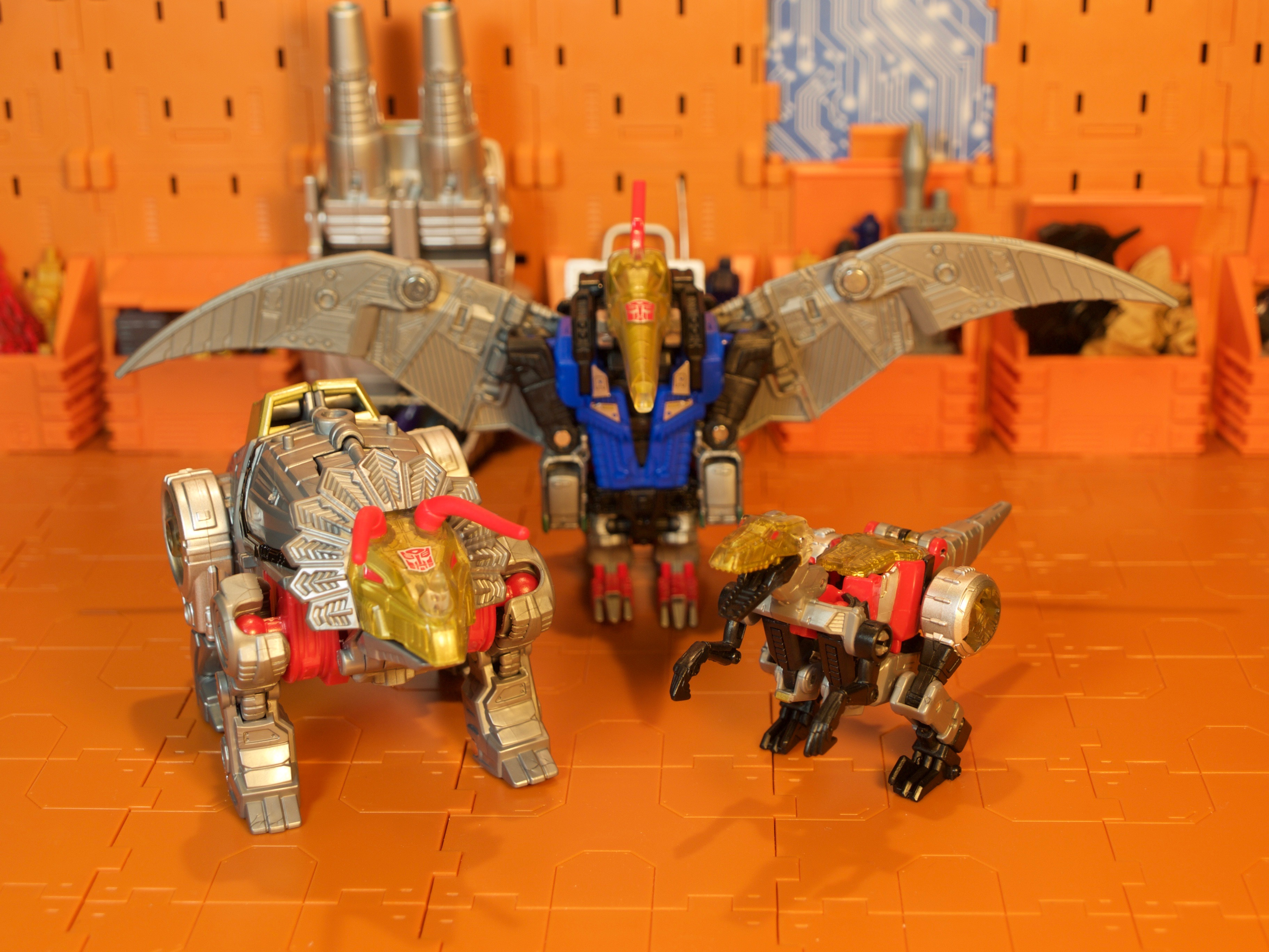 Slash with Dinobots