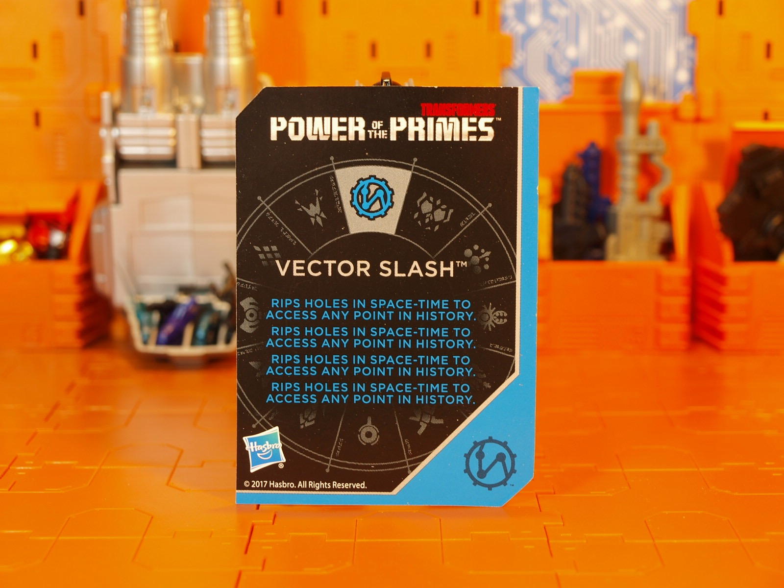 Slash card back