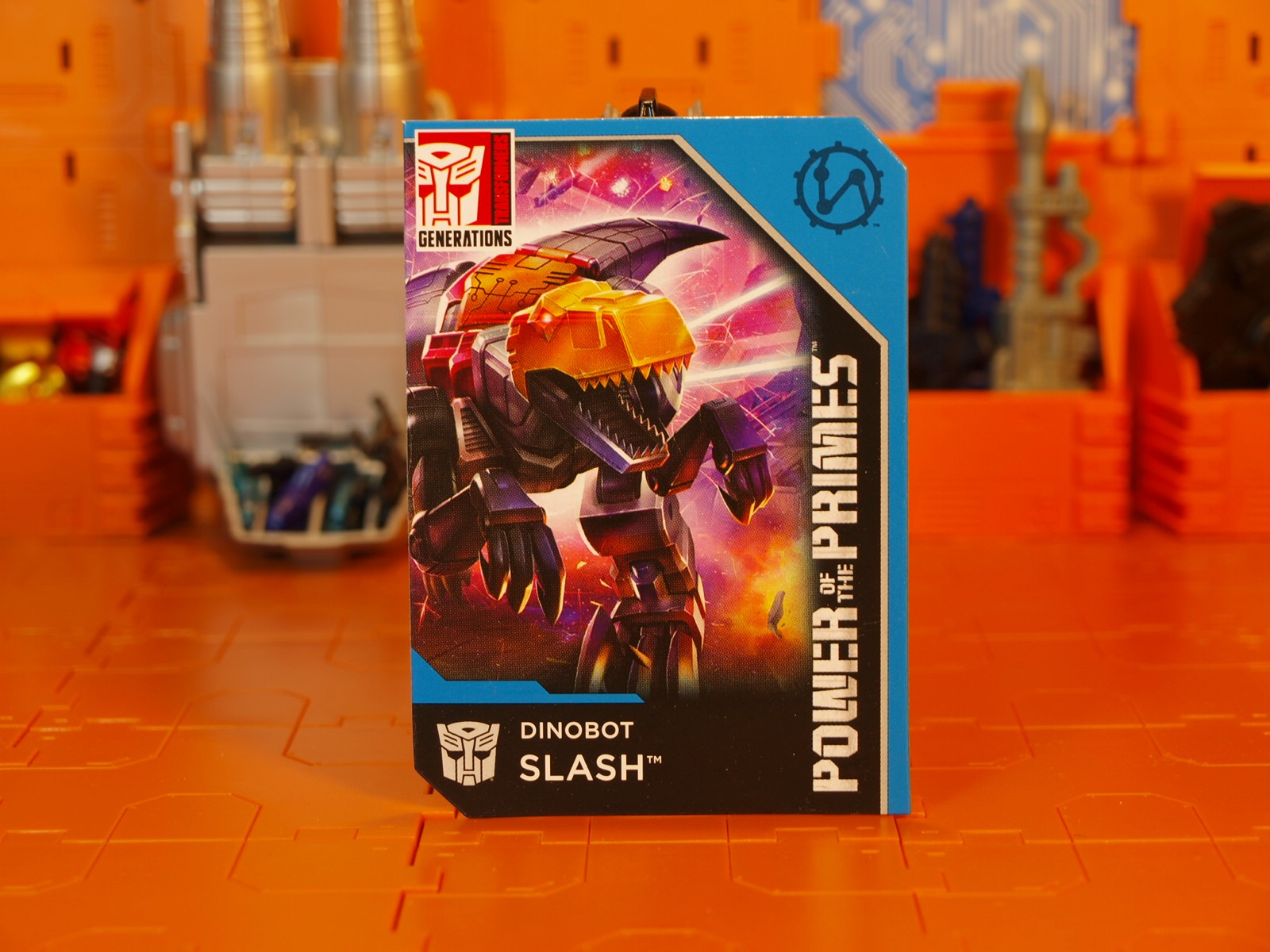 Slash card front