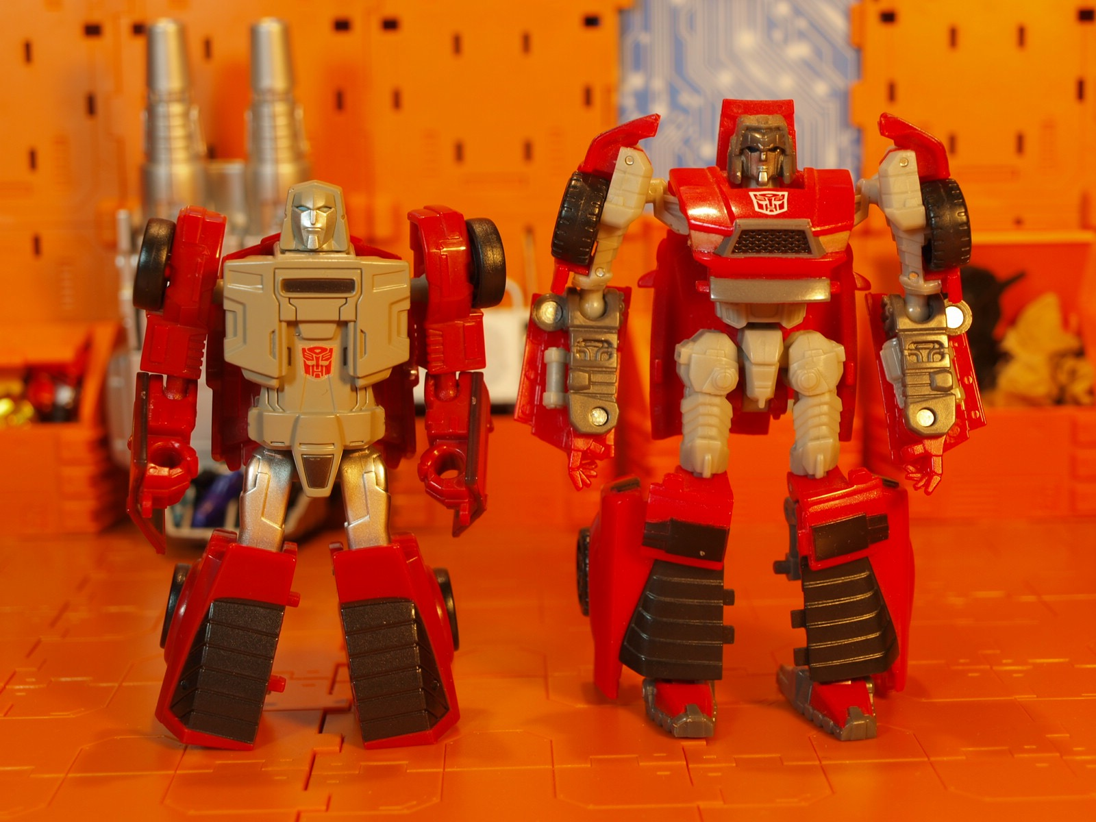 Windcharger comparison robot mode