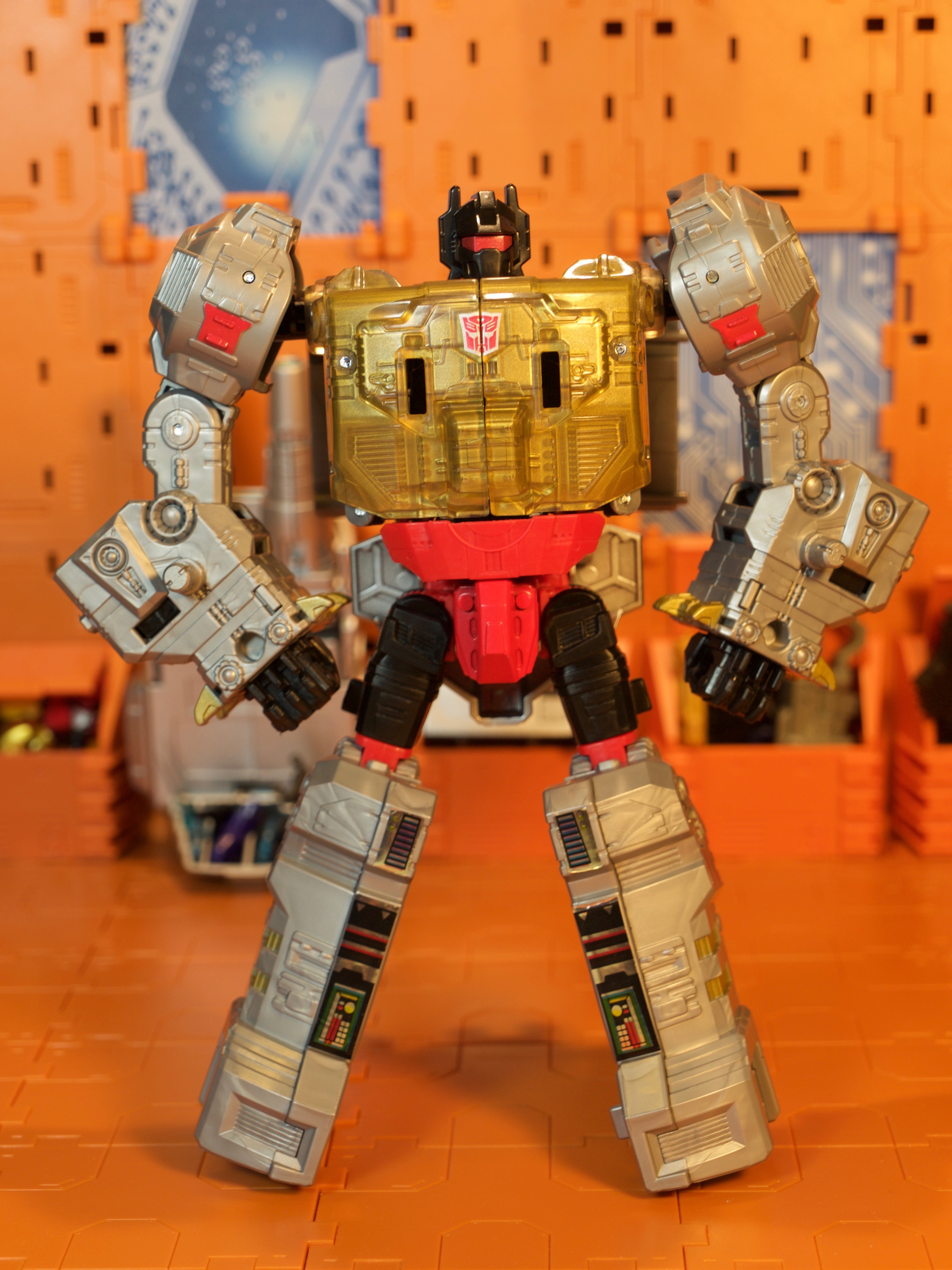 Grimlock robot mode