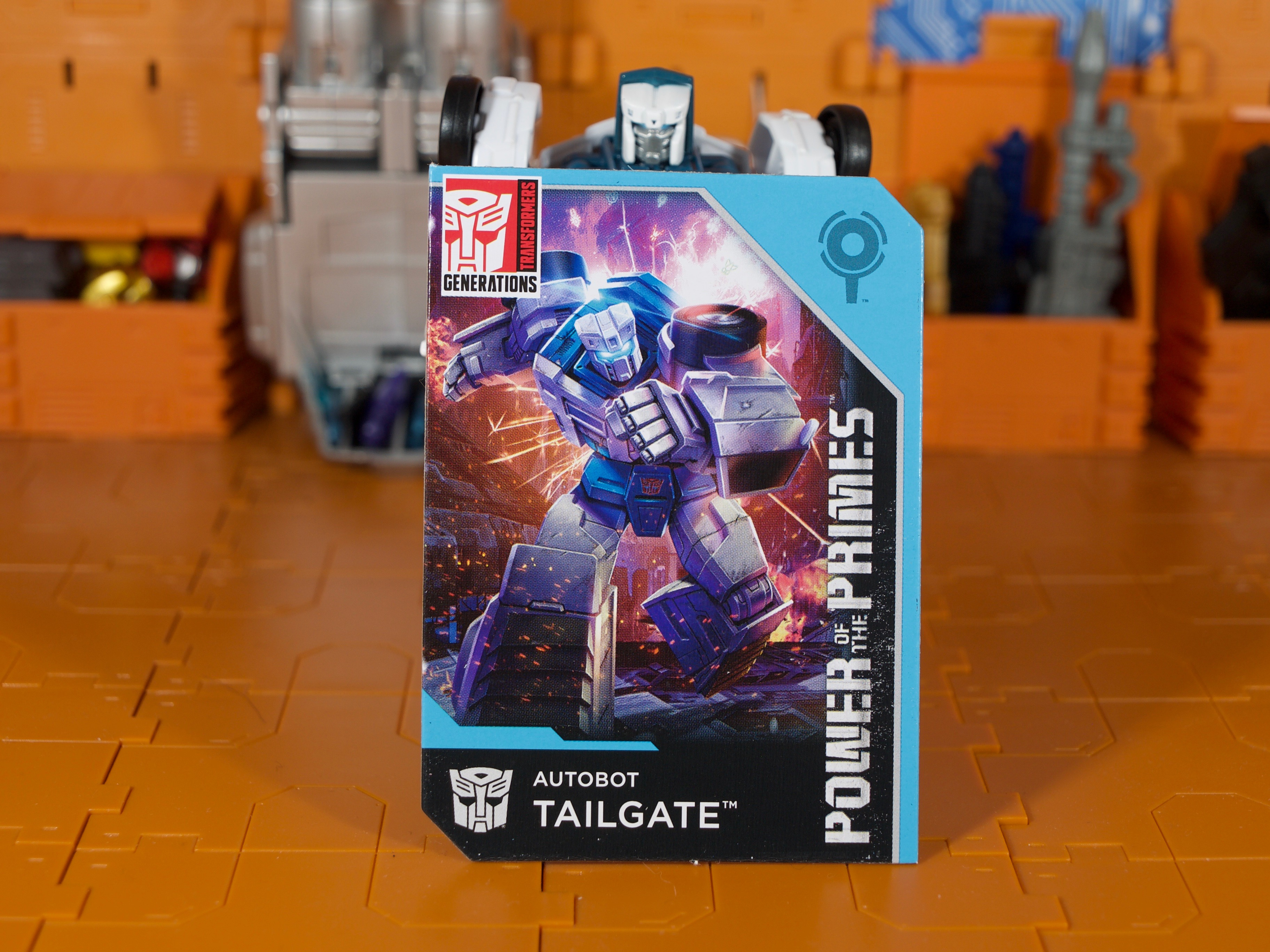 Tailgate card front
