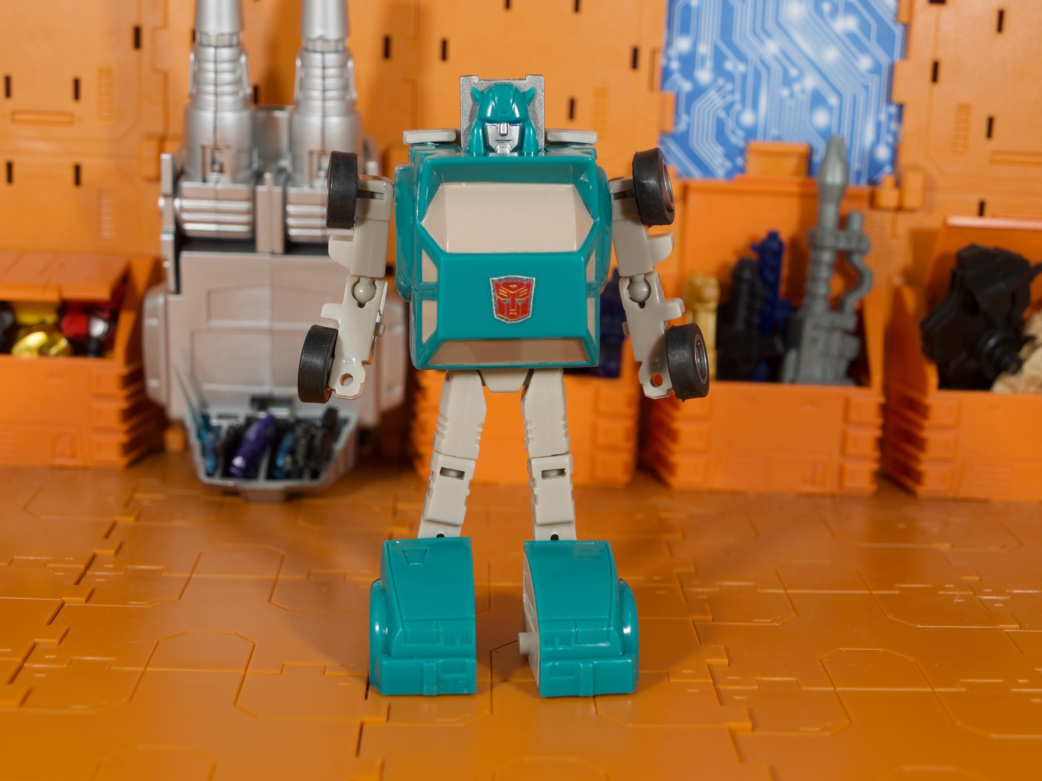 Tapper robot mode