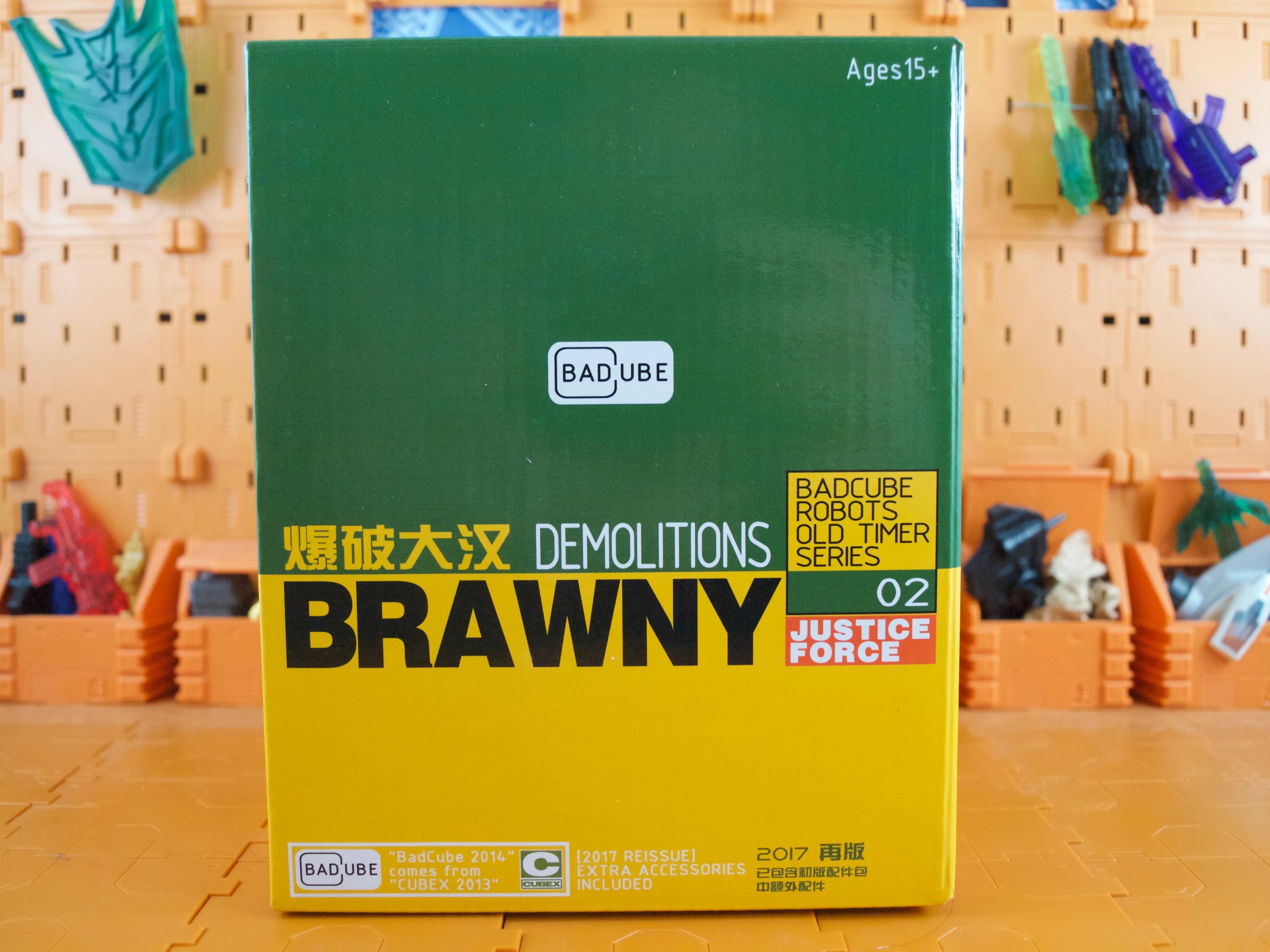 BadCube Brawny box