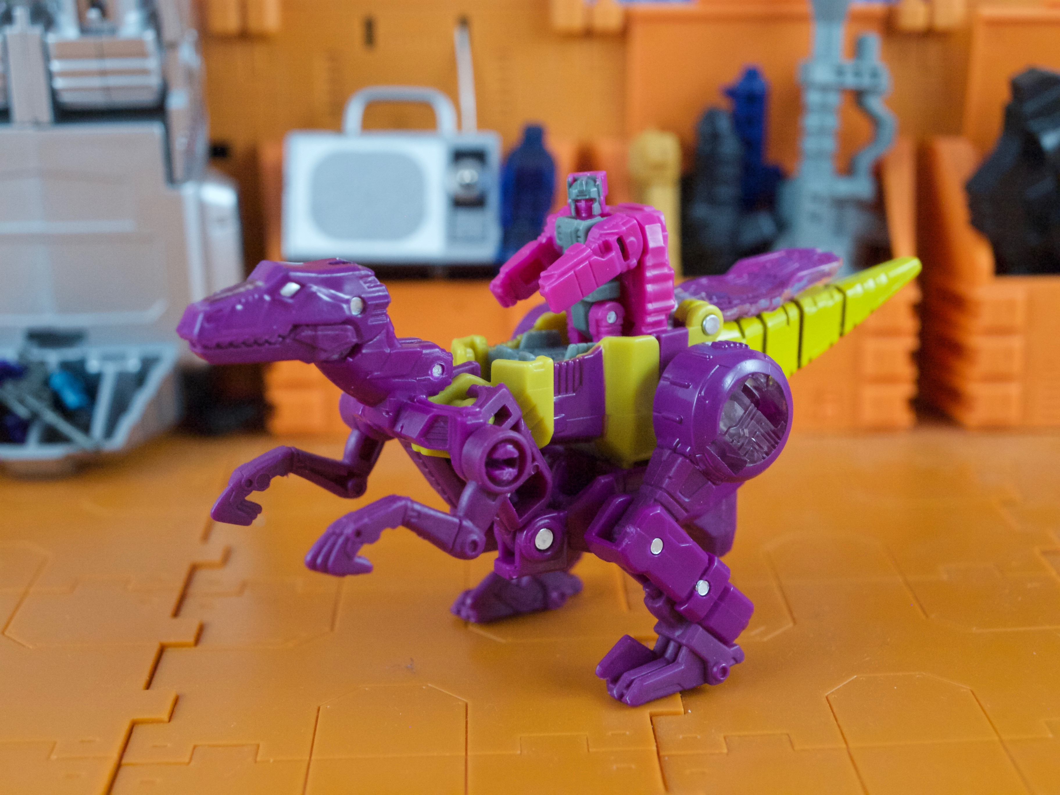 Cindersaur with Liege Maximo