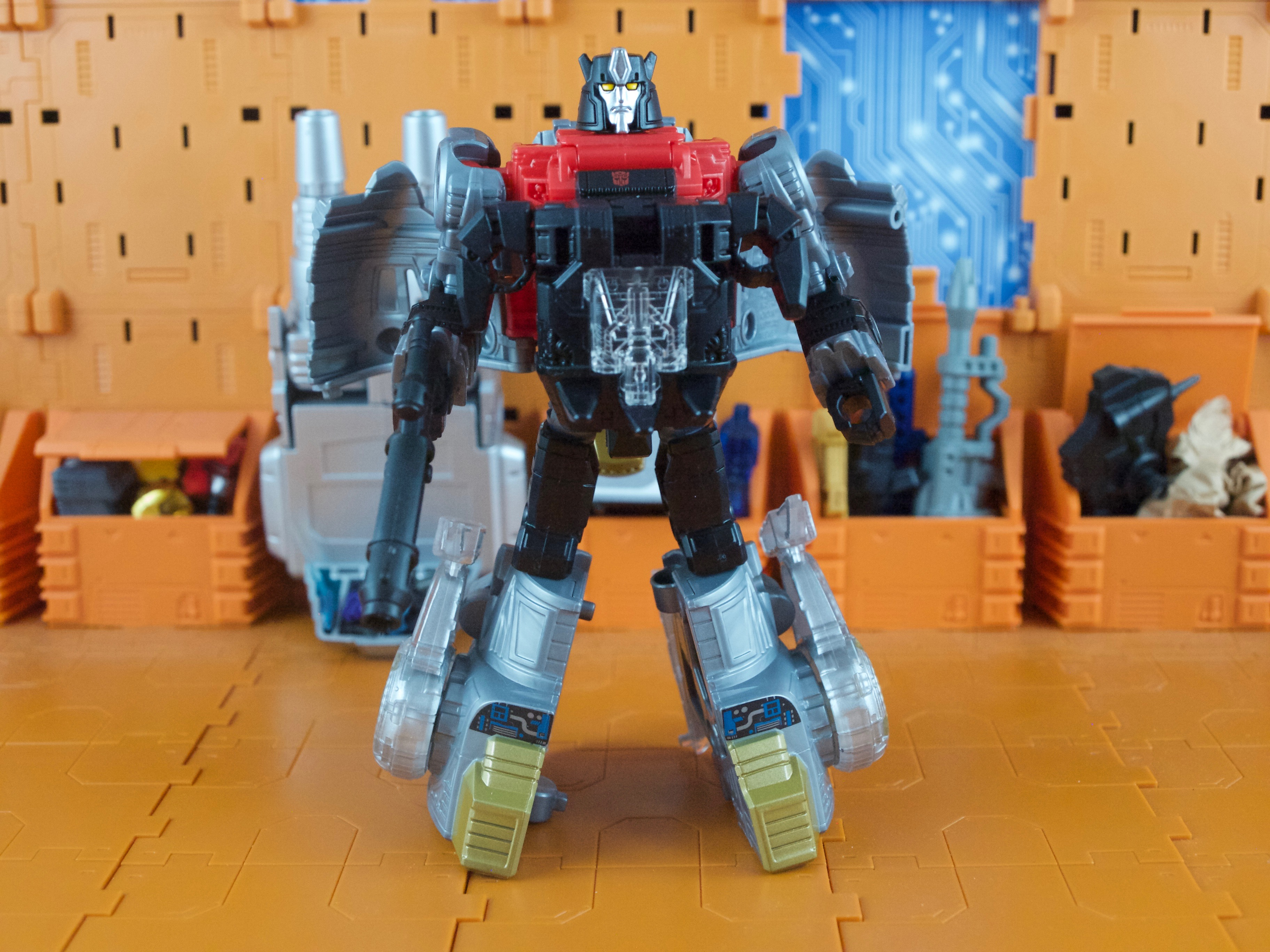 Sludge robot mode armor