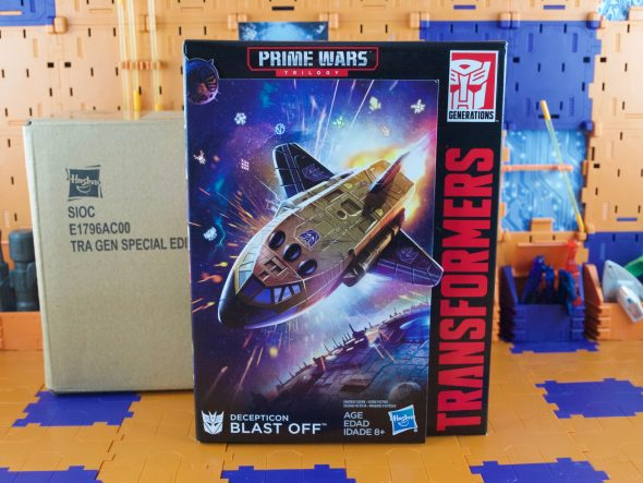 Prime Wars Trilogy Blast Off with Megatronus