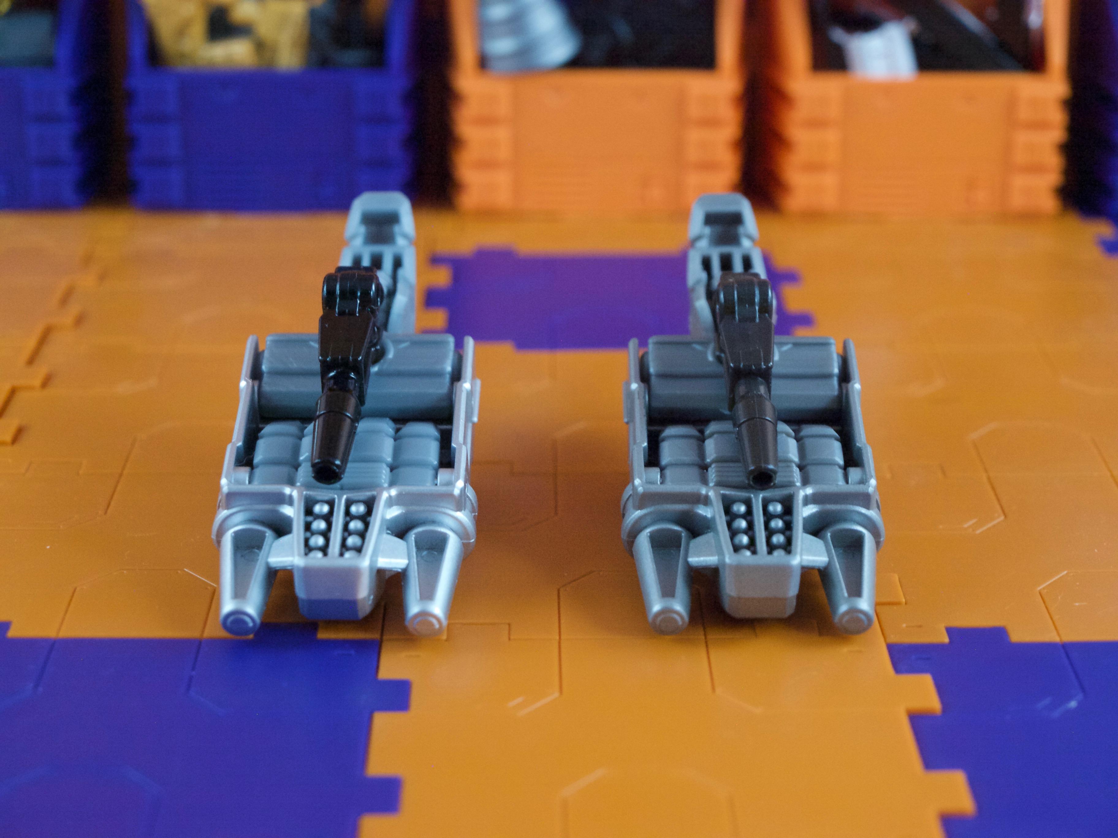 Combiner parts comparison