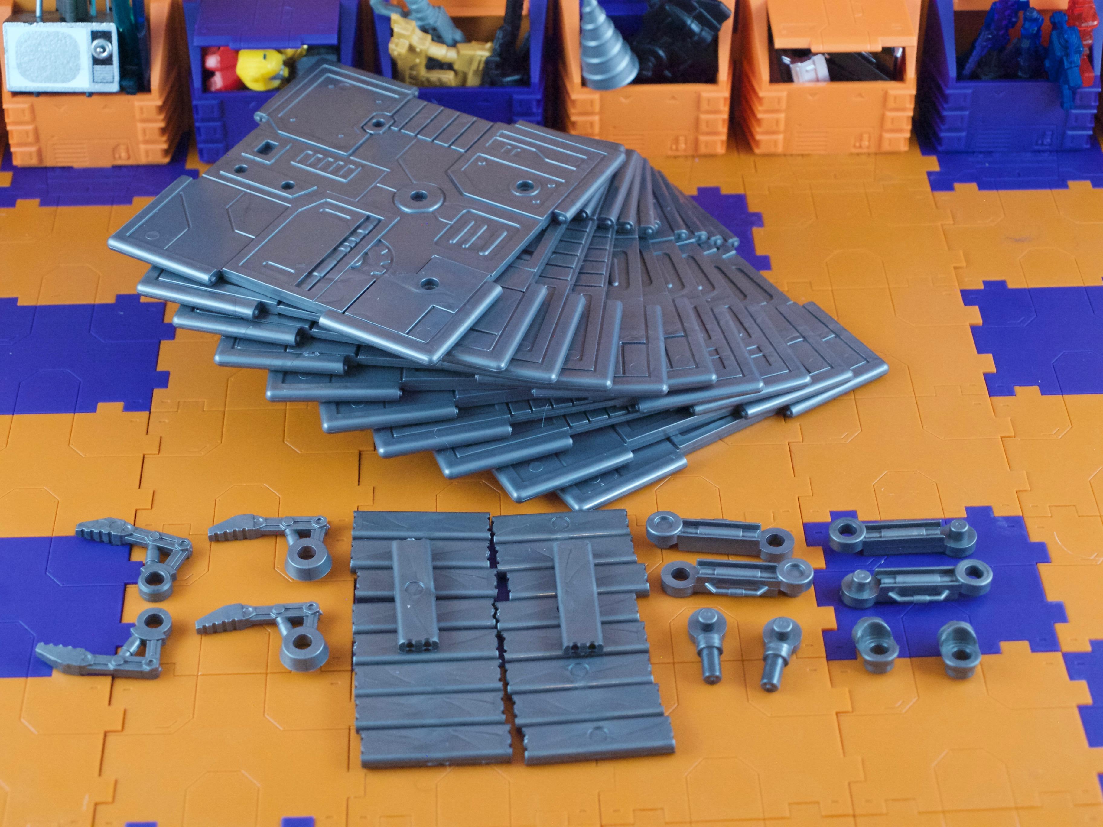 Iron Deck parts
