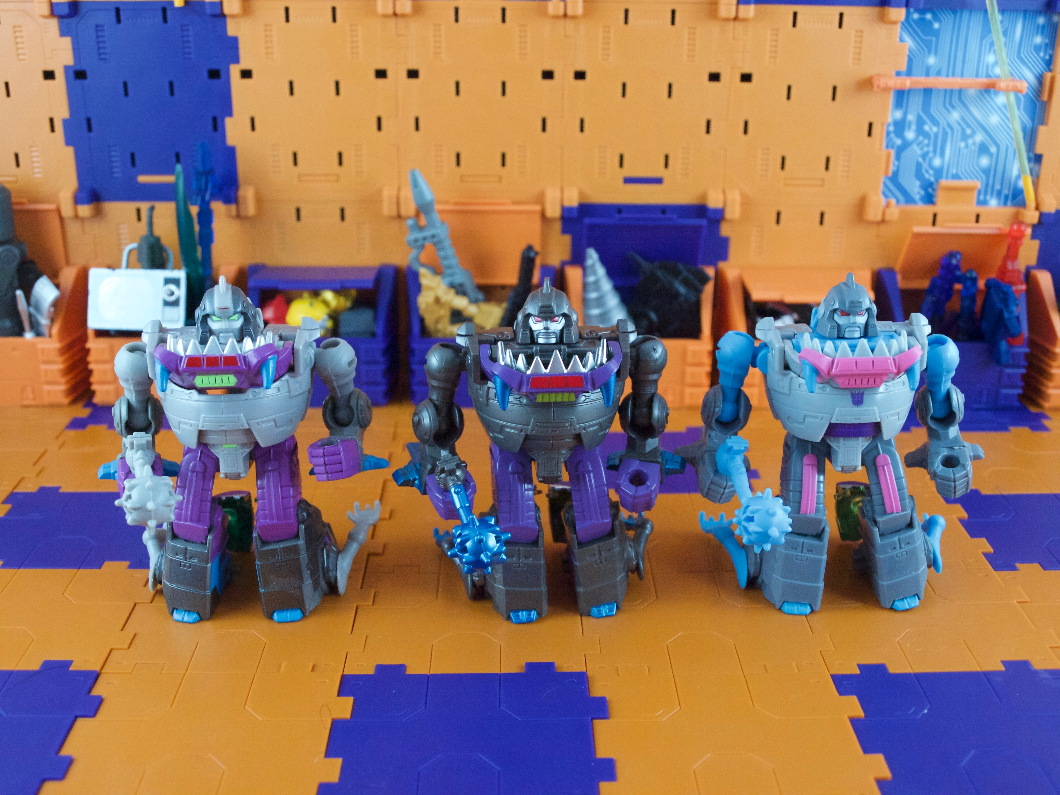 Sharktticons comparison