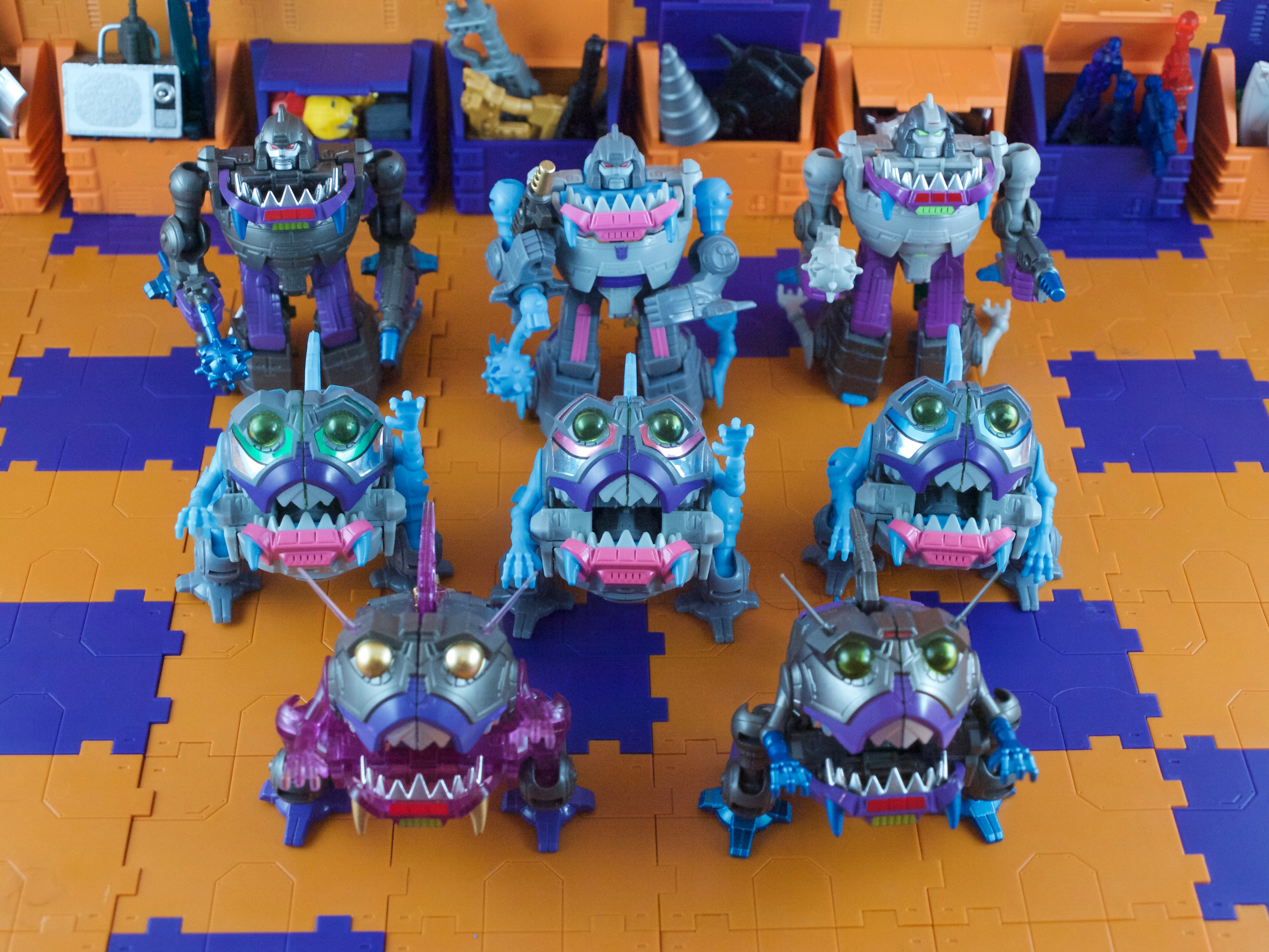 Sharkticon swarm