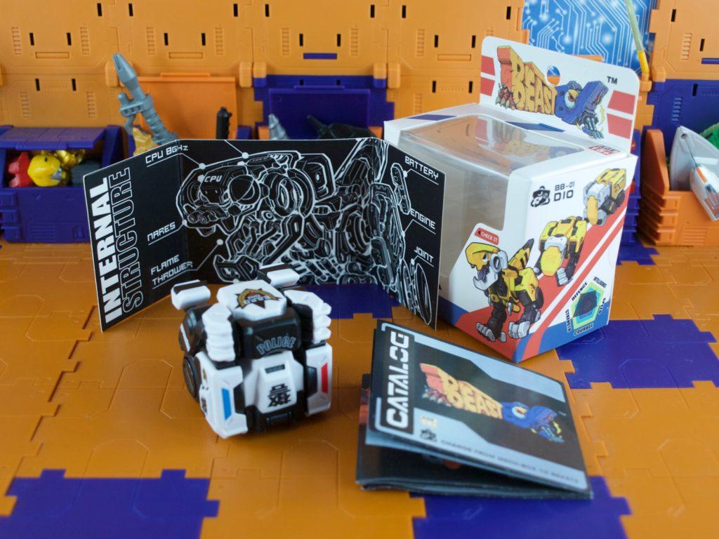 DIO B.B.P.D box contents
