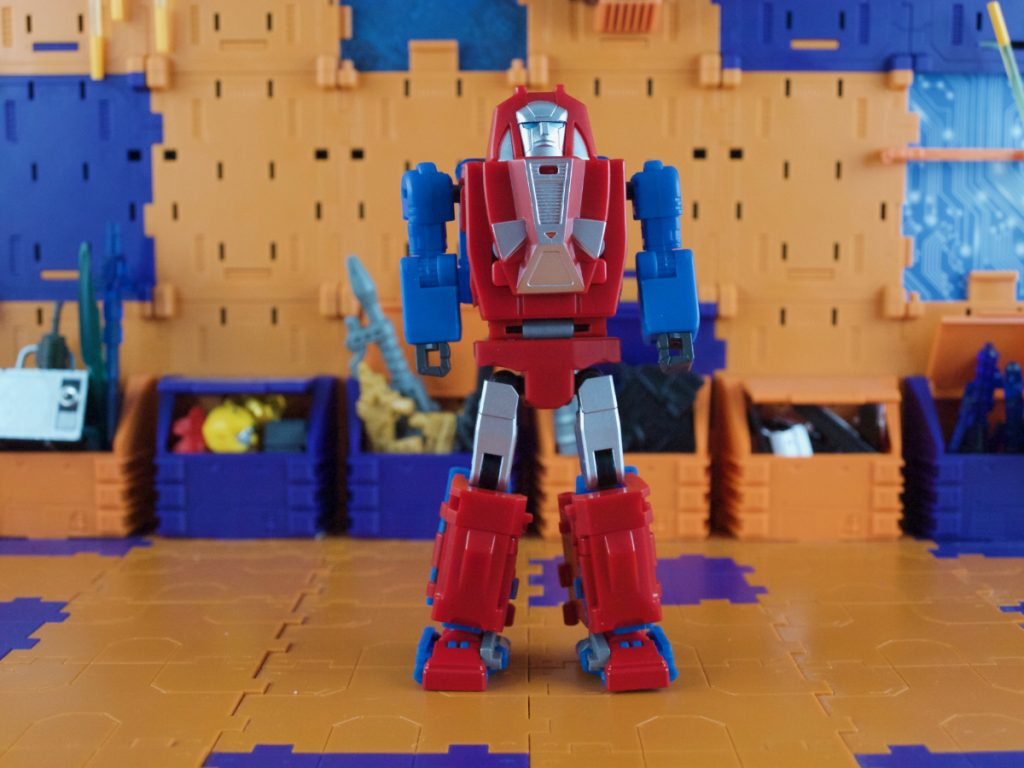 Grump robot mode