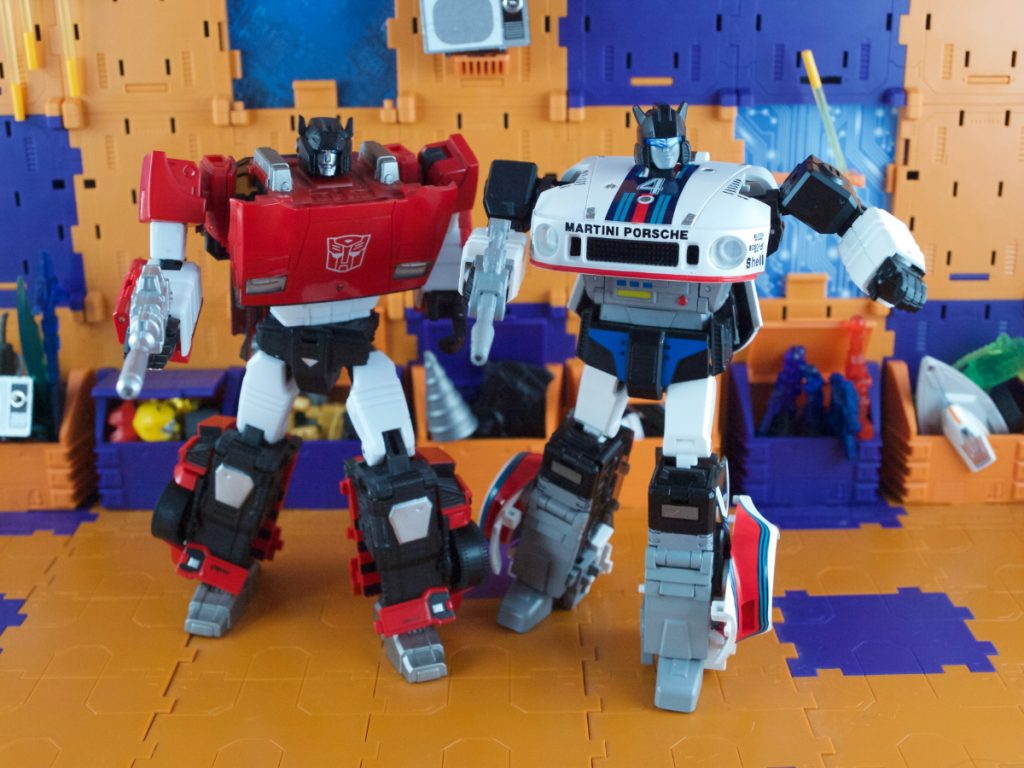 Agent Meister with Sideswipe
