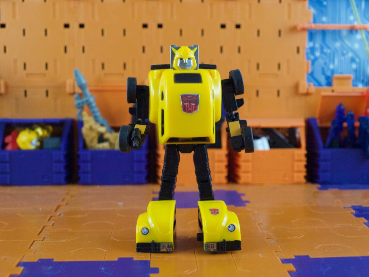 Bumble-Bug robot mode