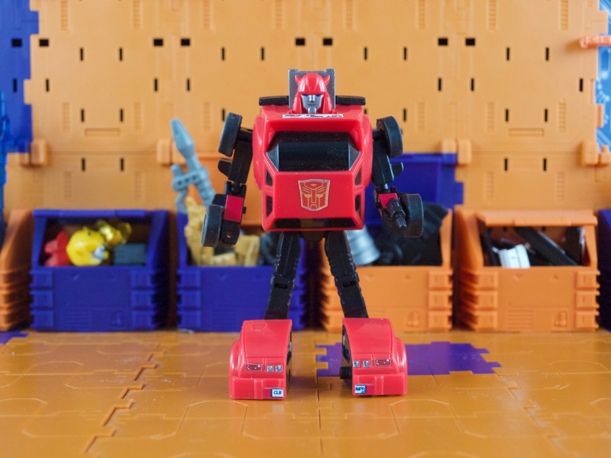 Hill Jumper robot mode