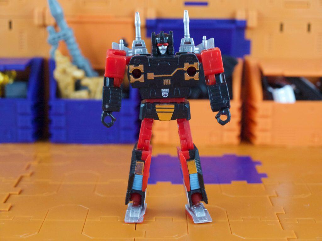 Rumble robot mode