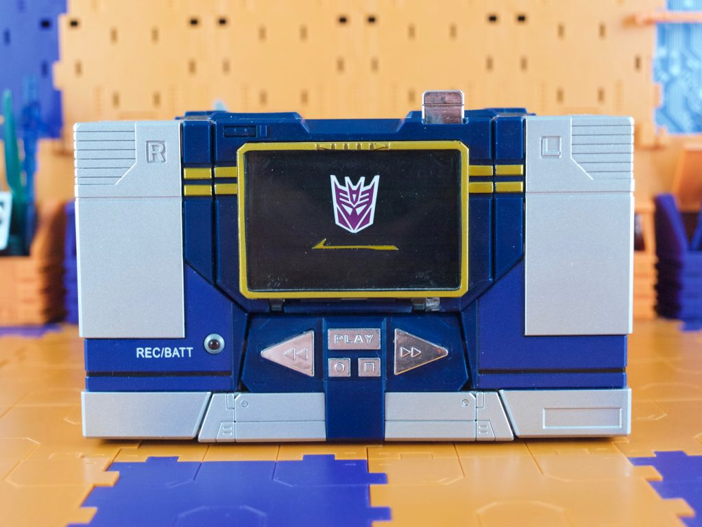 Soundwave tape deck mode