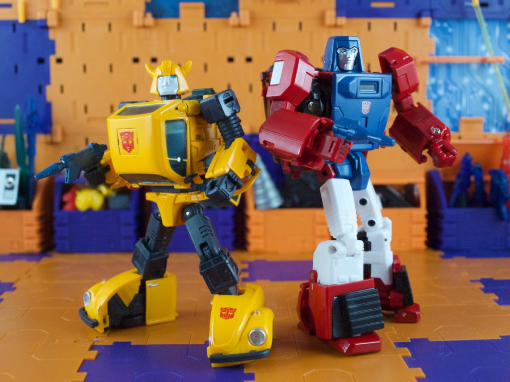 Boost with Bumblebee robot mode