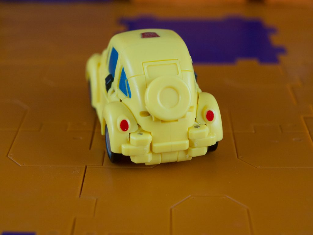Flipper vehicle mode rear view