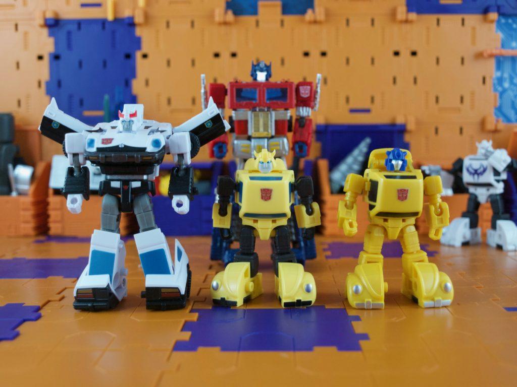 Legendary Warriors with Hybrid Optimus Prime